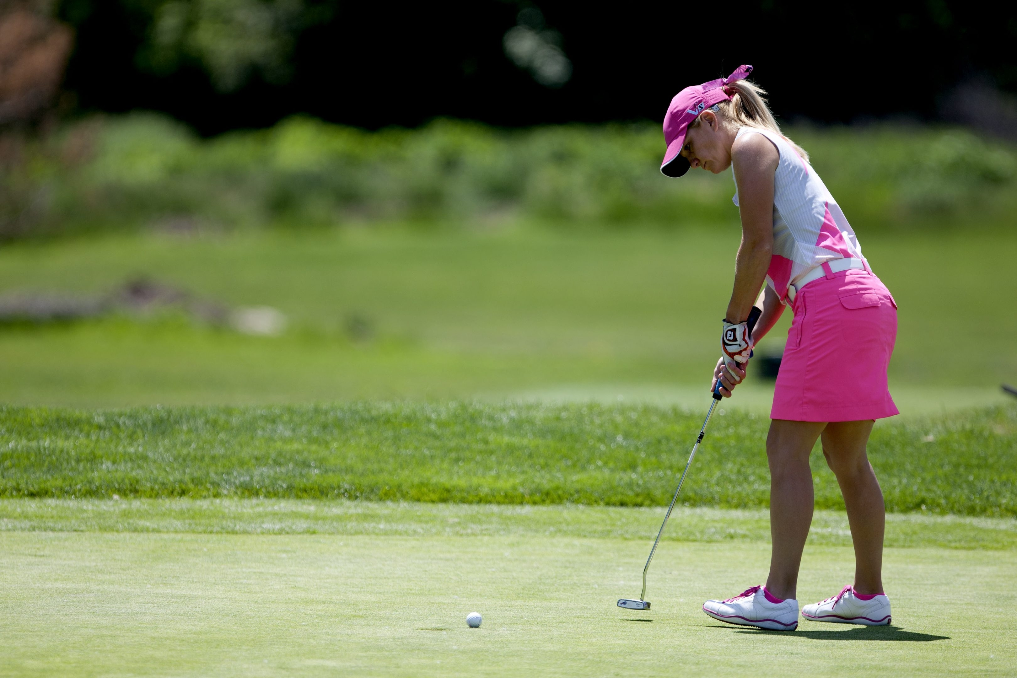 This year's participants in the Women's Porter Cup at Niagara Falls Country Club will find a dozen rebuilt greens.