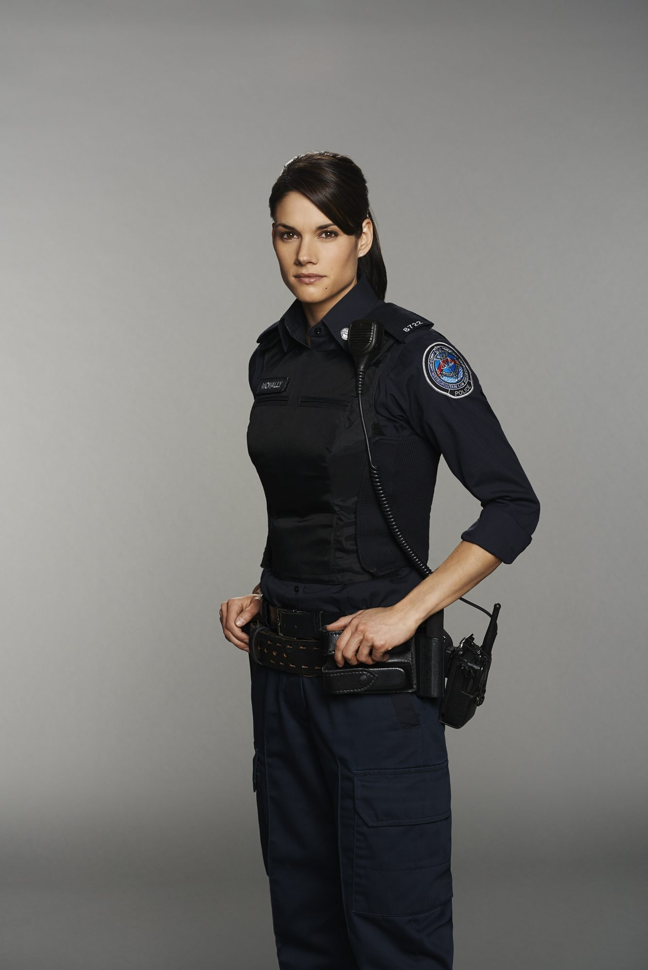 """Missy Peregrym plays Officer Andy McNally on ABC's """"Rookie Blue."""""""