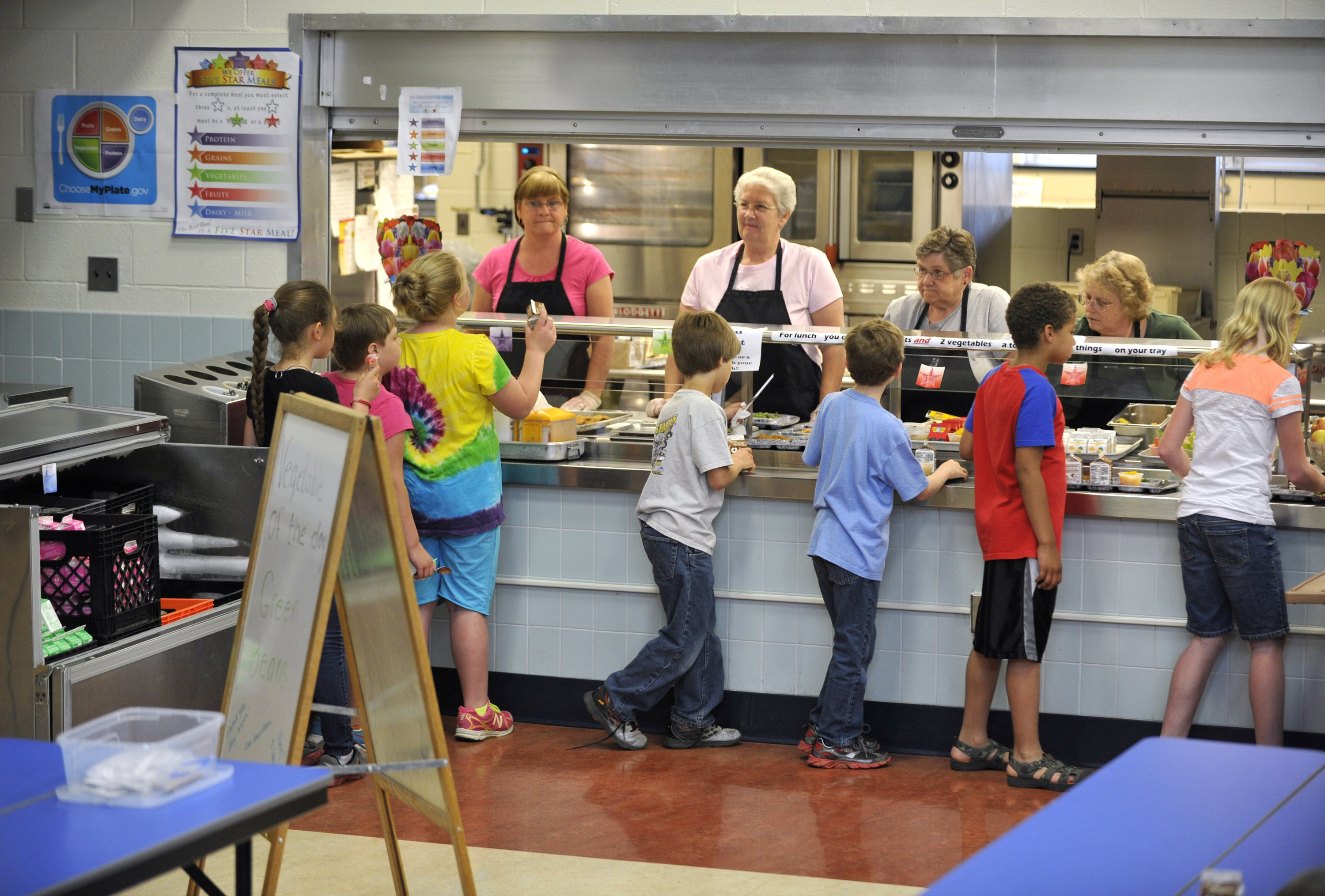 """Everyone supports healthy meals for children,"" Rep. Robert B. Aderholt, R-Ala., says. ""But the bottom line is that schools are finding it's too much, too quick."""