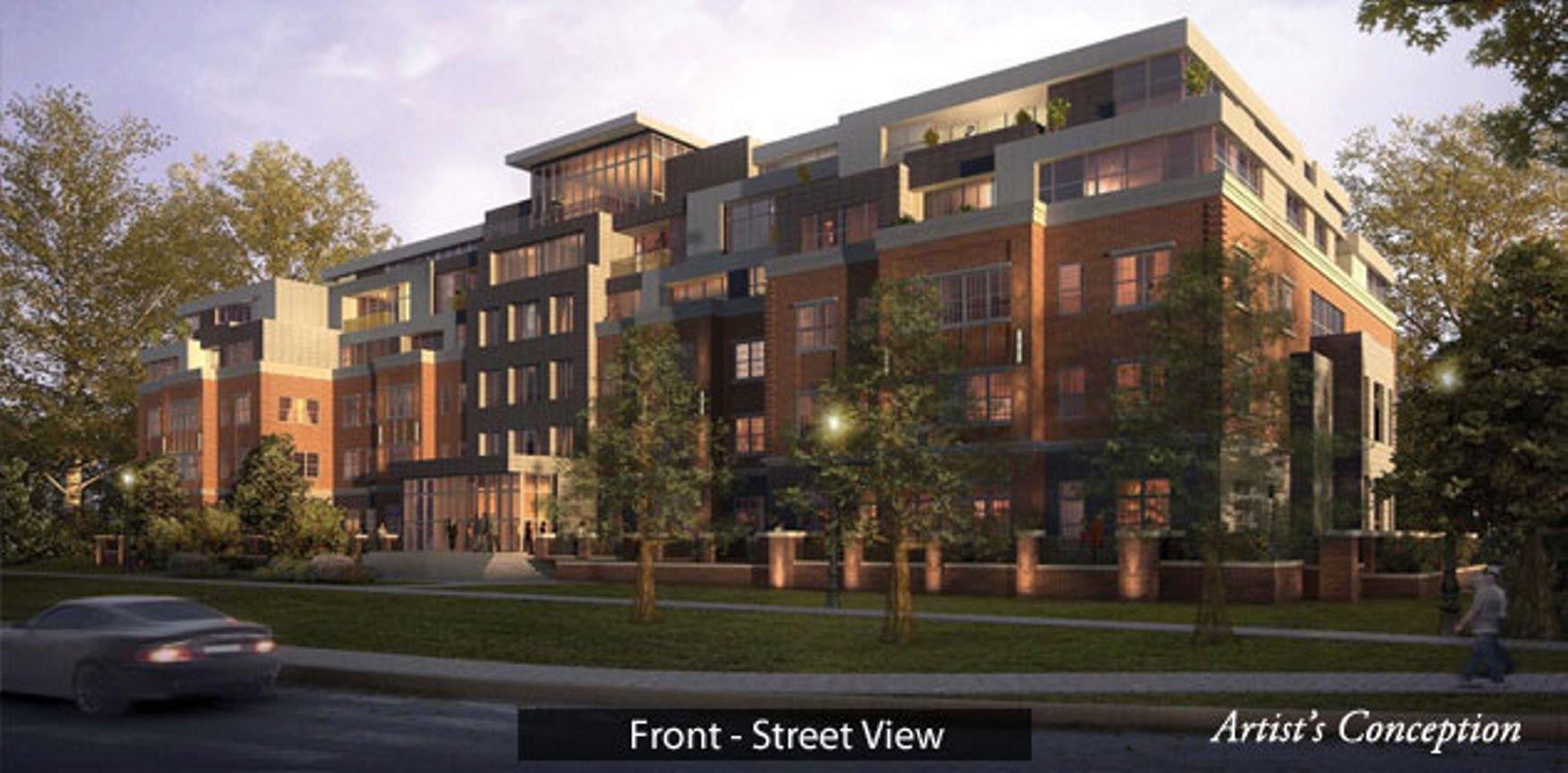 Proposed Canterbury Woods facility at Gates Circle.
