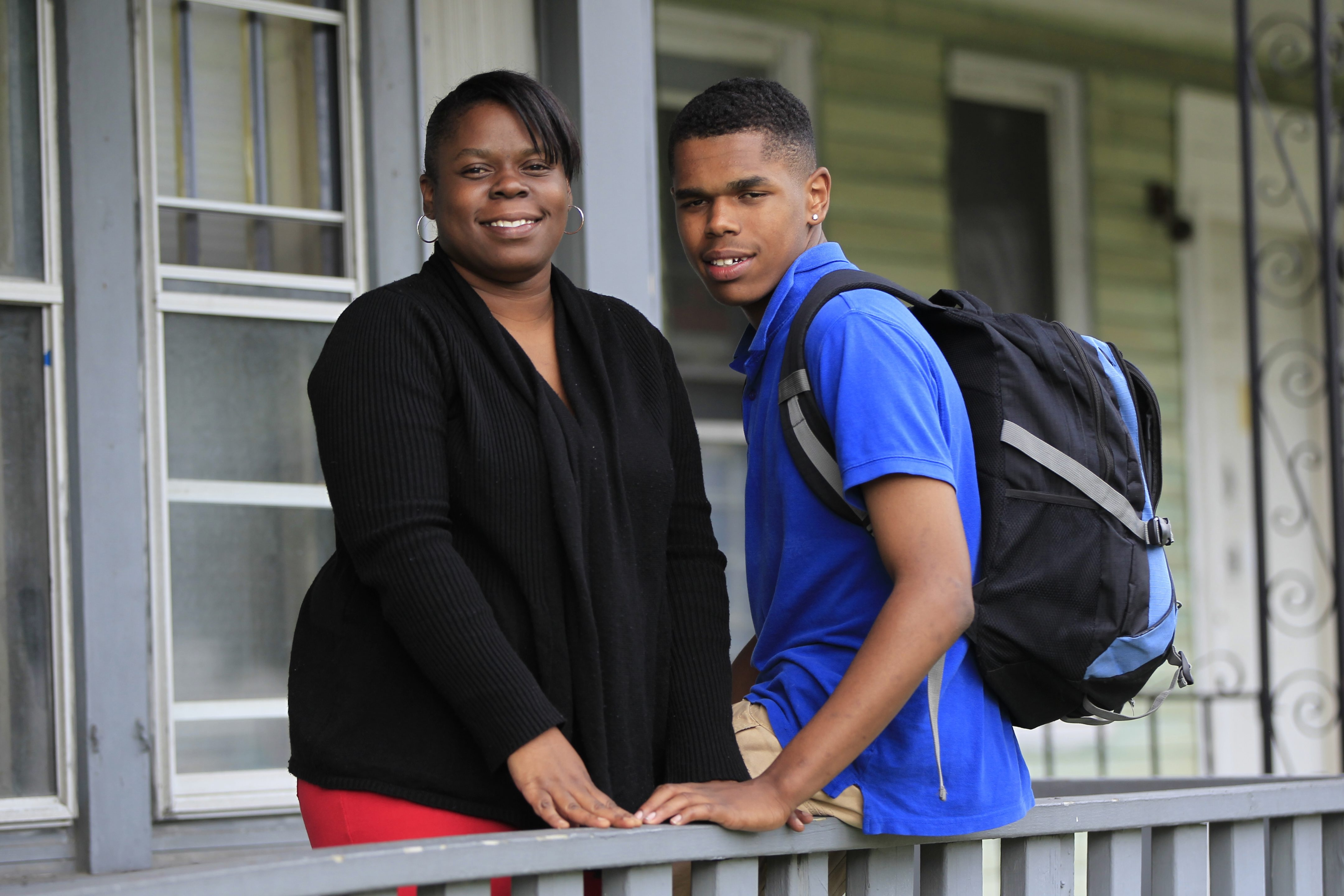 Like many families in Buffalo, Zakea Williams and her son Tyree were blindsided by the district's latest plan for School 115.