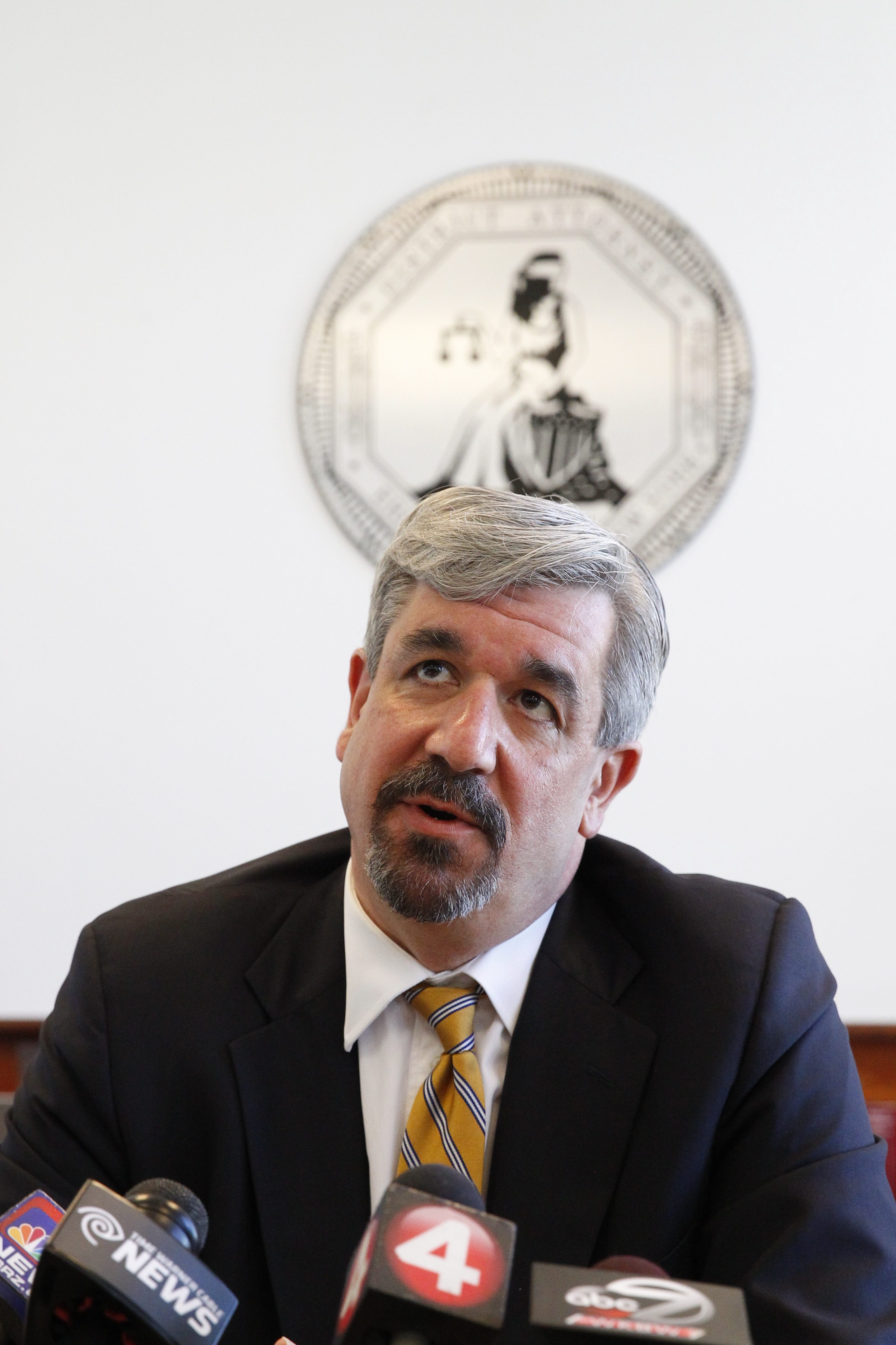 District Attorney Frank Sedita III said state law prevents him from discussing grand jury proceedings. (John Hickey/Buffalo News file photo)