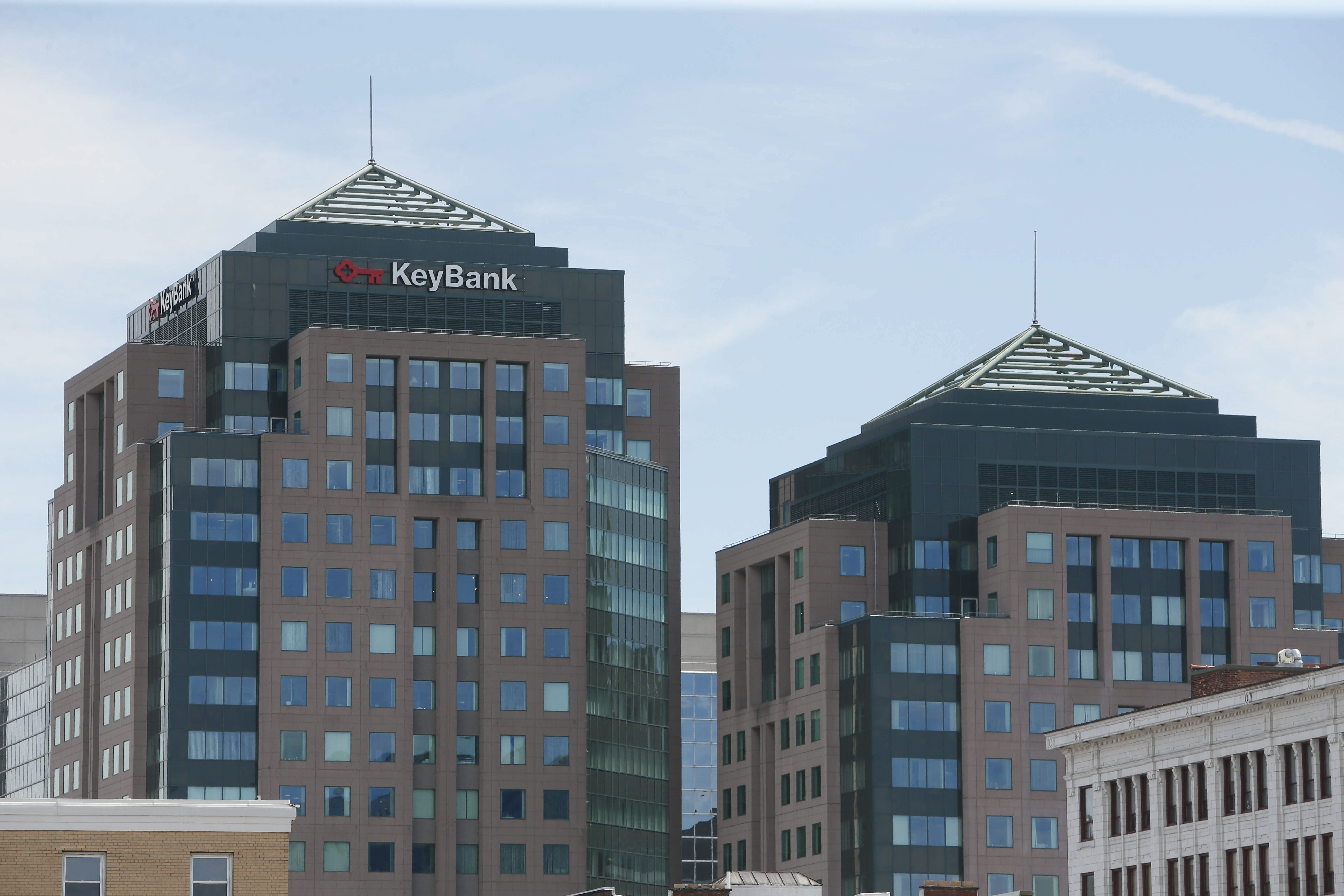Key Towers, at One Fountain Plaza, Friday, June 6, 2014.  (Derek Gee/Buffalo News)