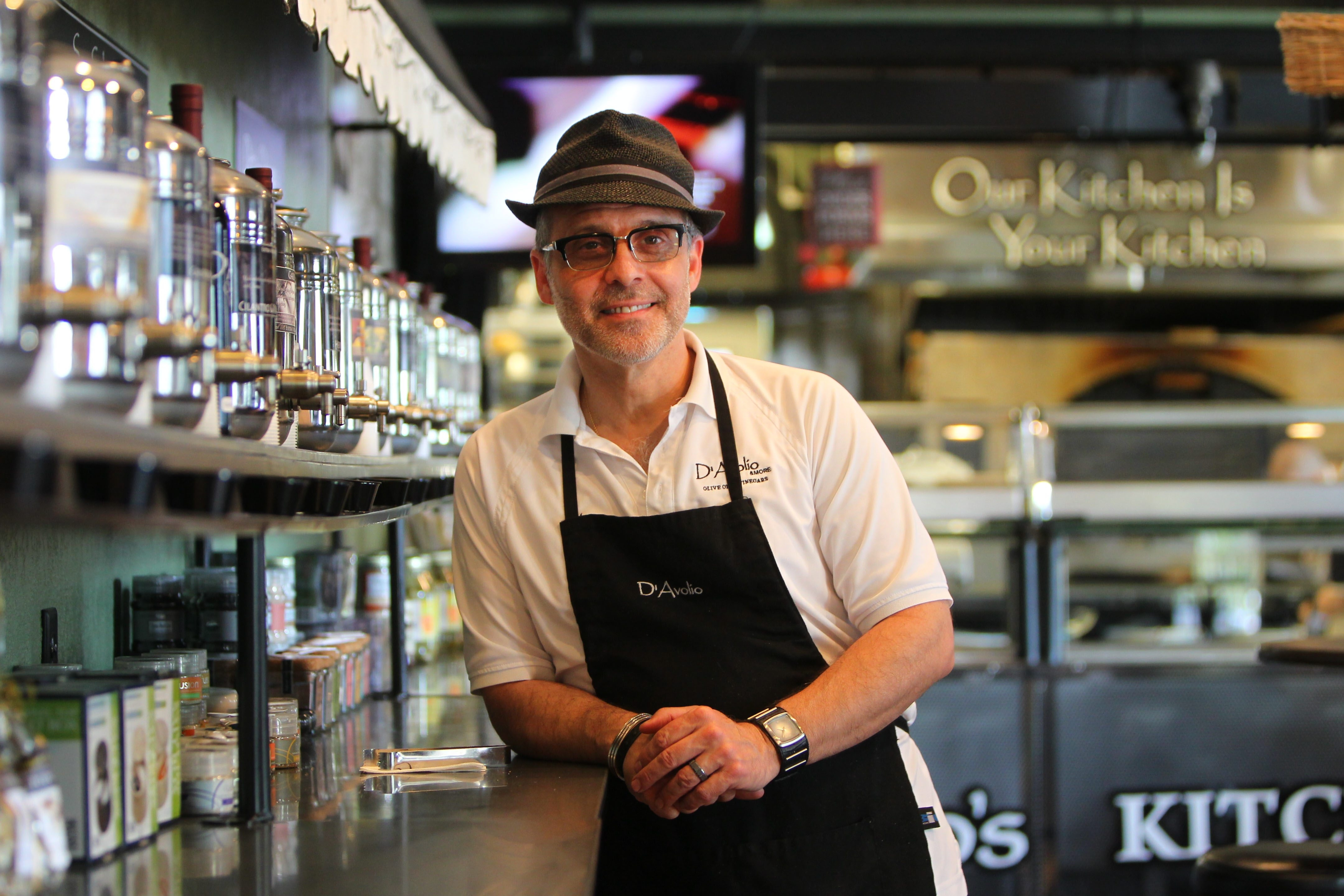D'Avolio owner Dan Gagliardo says he doesn't eat a lot of bread anymore.