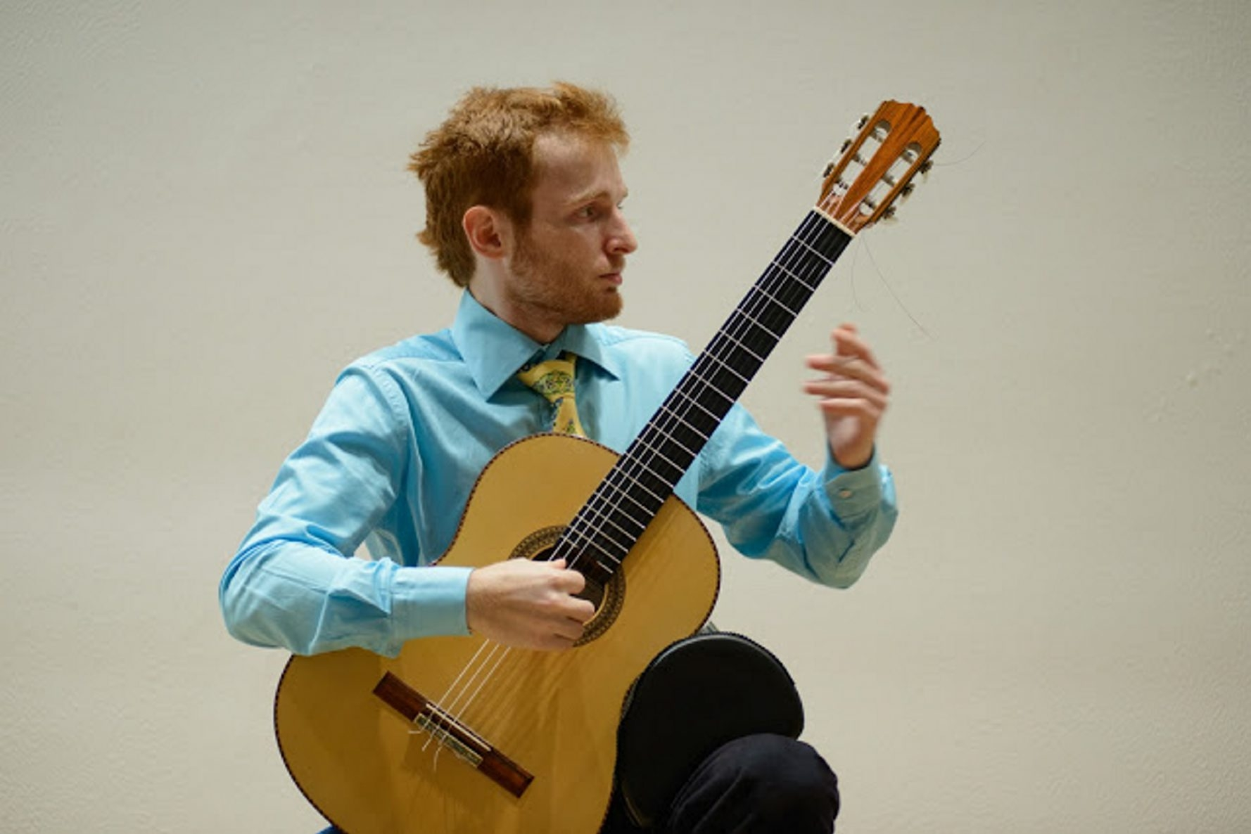 Marko Topchii is one of the guitar competition finalists.