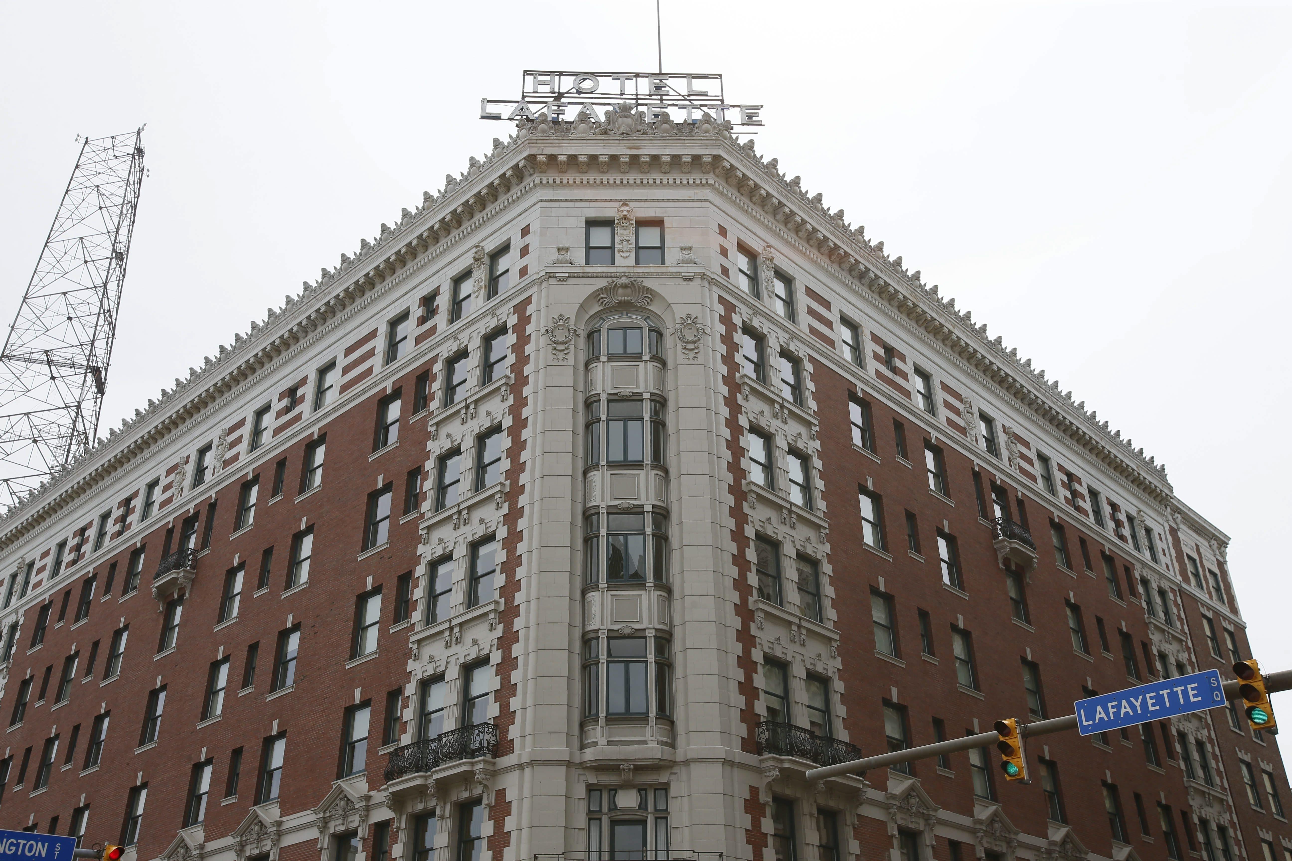 Explore Buffalo's walking tour visits architectural landmarks like the Hotel Lafayette.  (Derek Gee/Buffalo News file photo)