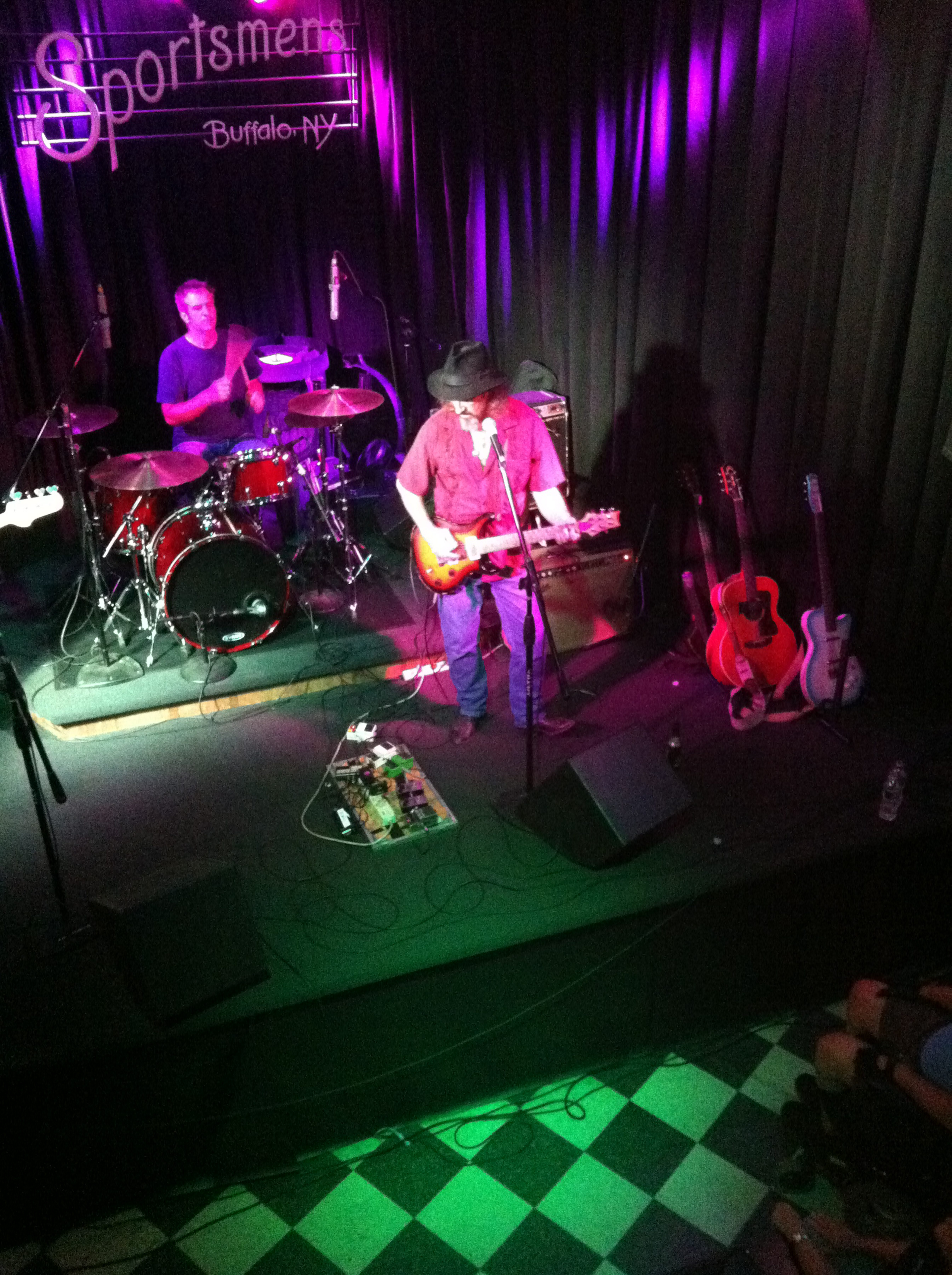 James McMurtry plays to a sold-out Sportsmen's Tavern on Tuesday.