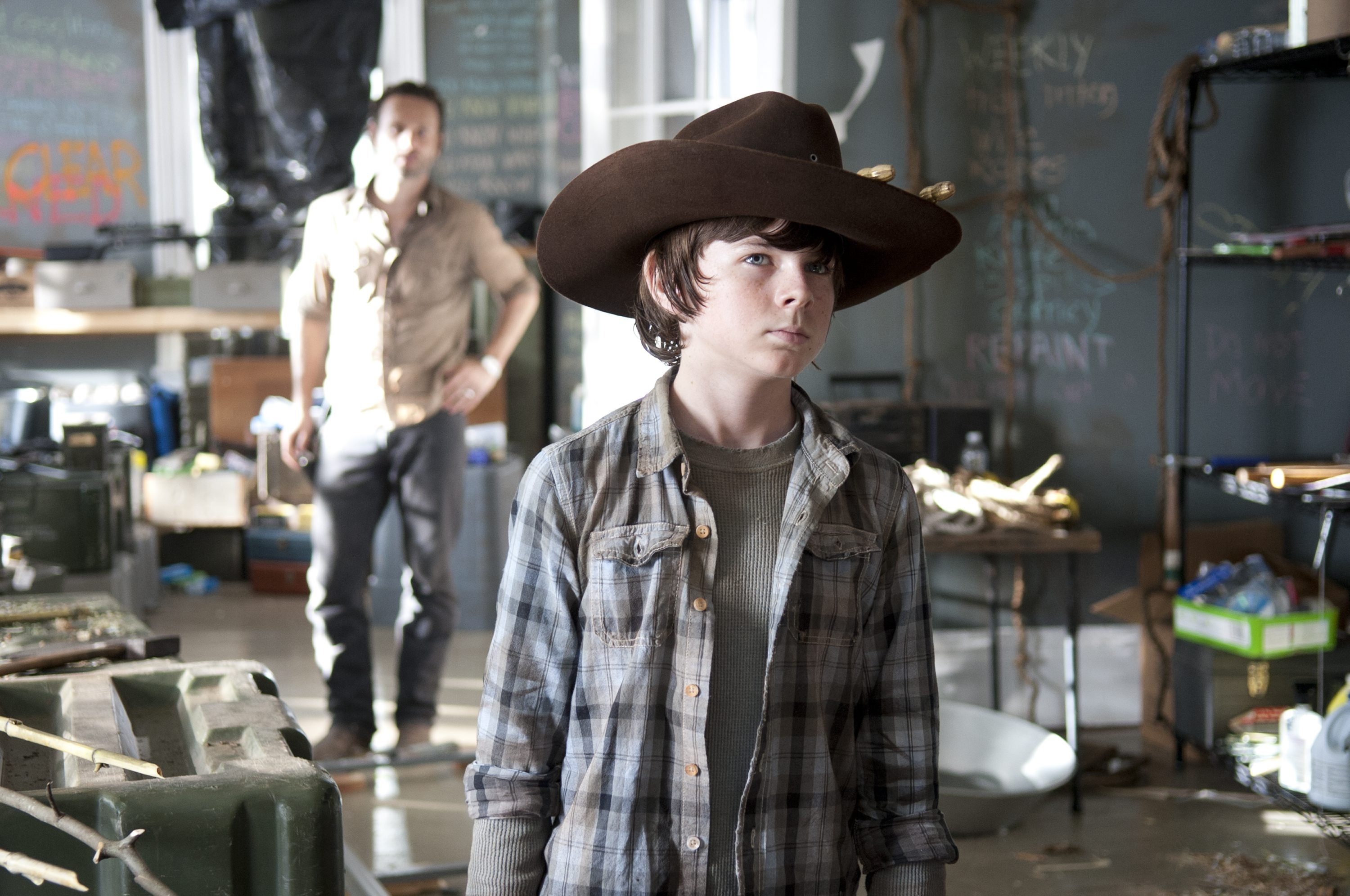 """Chandler Riggs of """"The Walking Dead"""" is one of the many guests stars at the Niagara Falls Comic Con."""