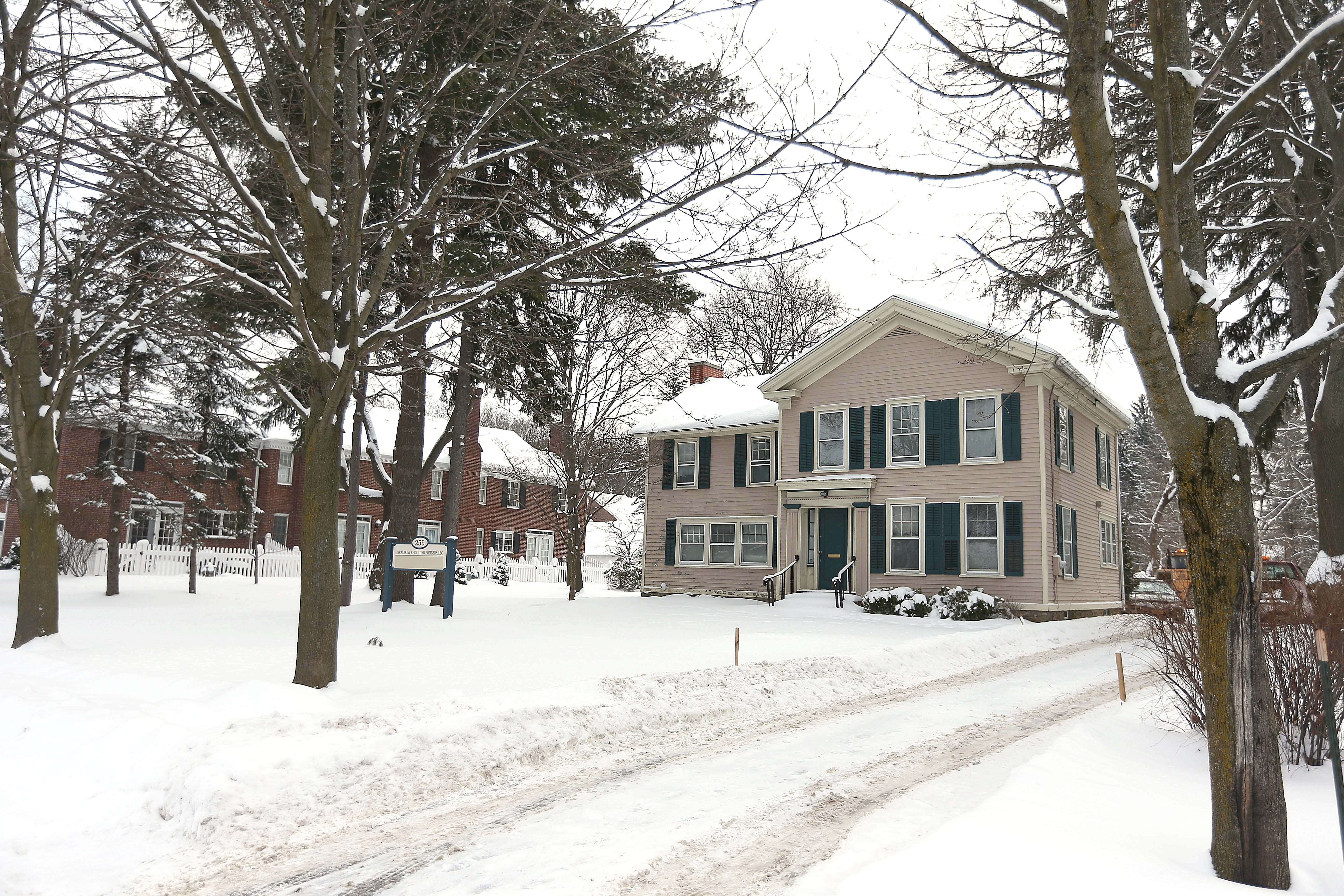 This historic home at 259 Main St., East Aurora, was built around 1840 and was the home of Irving Price of Fisher-Price fame.