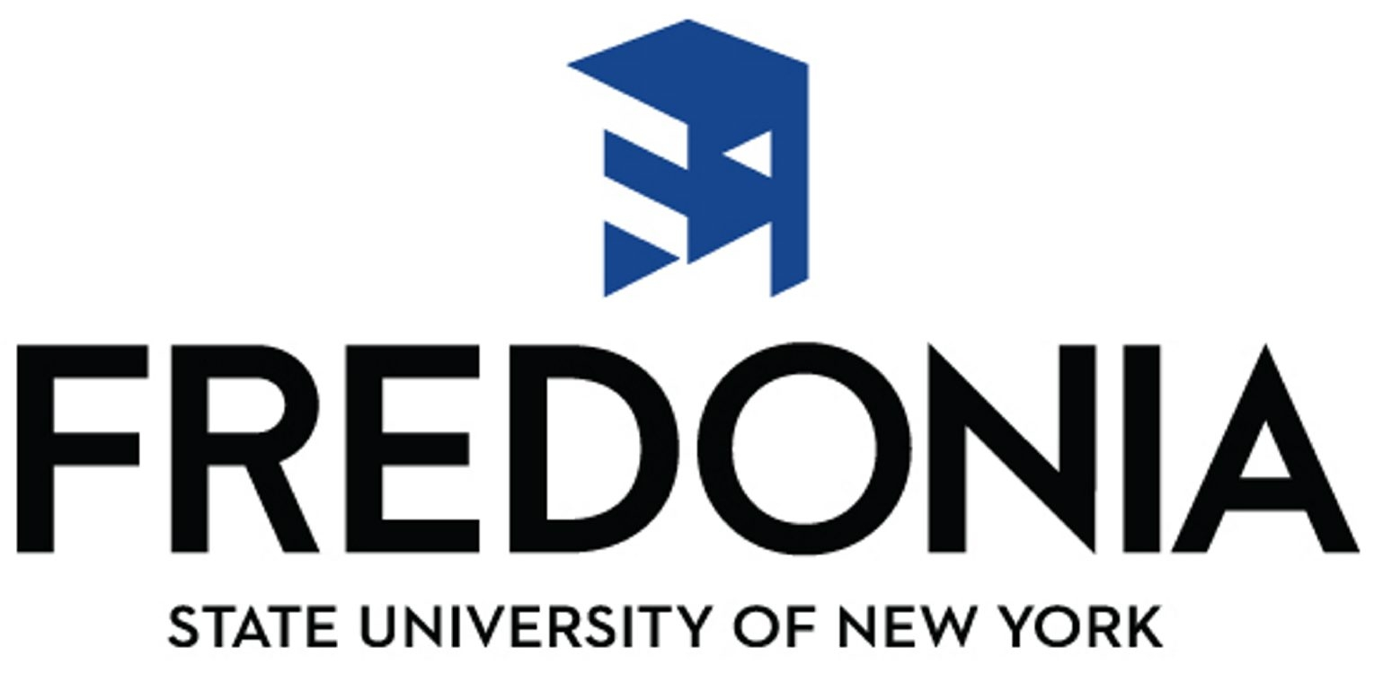 The new logo of State University of New York at Fredonia.