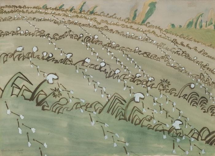 Charles E. Burchfield had a lifelong fascination with wildflowers.