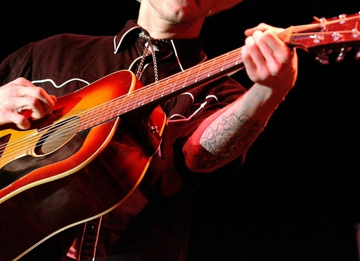 Country singer Hank Williams III, like his father and grandfather, refuses to play it safe in his performances. (Getty Images)