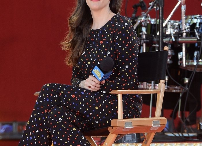 """Liv Tyler paid a visit to ABC's """"Good Morning America"""" at Rumsey Playfield last week in  New York City. (Getty Images)"""