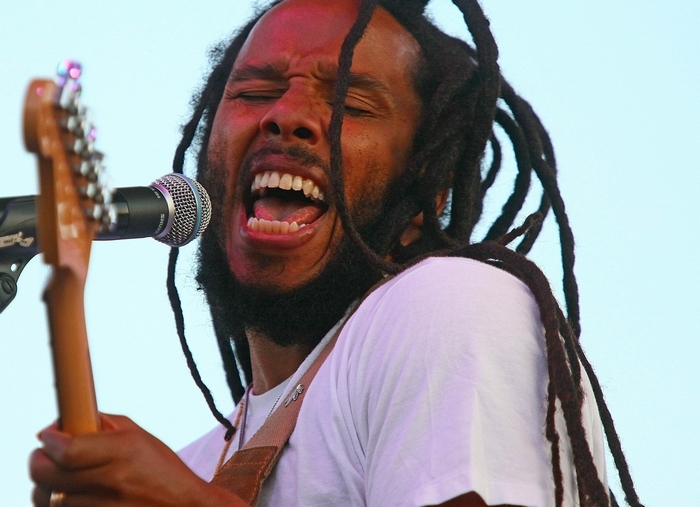 Ziggy Marley performs at Artpark on Wednesday.  (Robert Kirkham/Buffalo News file photo)