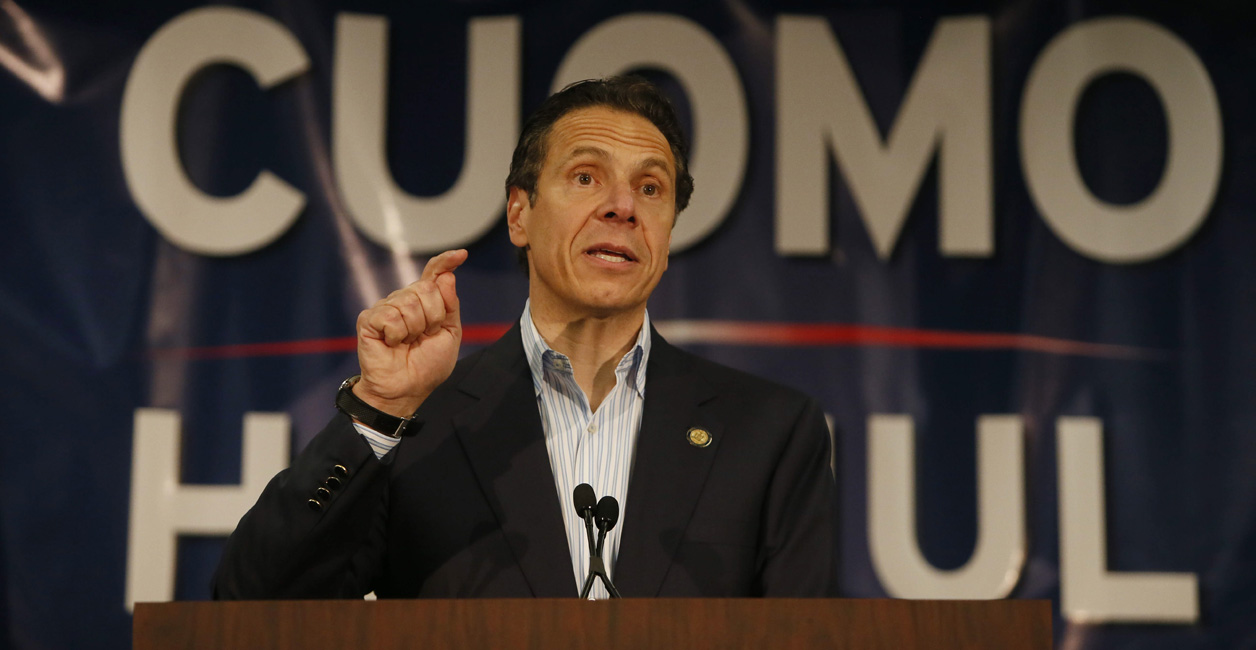 Governor Andrew Cuomo is reportedly coming to Buffalo Tuesday for a 'five digit' fundraiser. (Derek Gee/Buffalo News file photo)