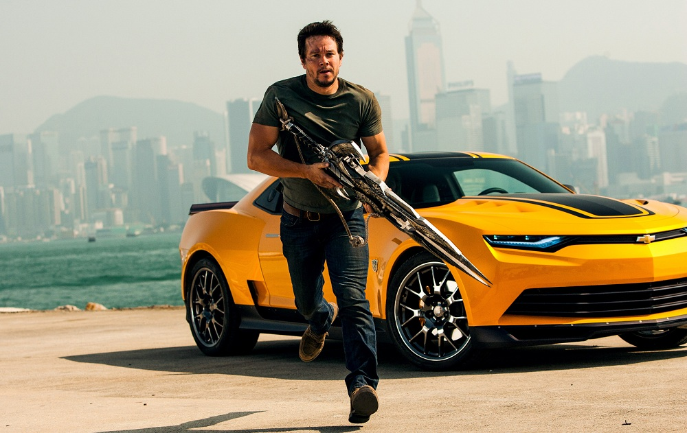 This photo released by Paramount Pictures shows Mark Wahlberg as Cade Yeager, in the film, 'Transformers: Age of Extinction.' (AP Photo/Paramount Pictures, Andrew Cooper)