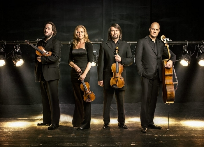 Unlike other ensembles, the Berlin-based Artemis Quartet performs while standing.