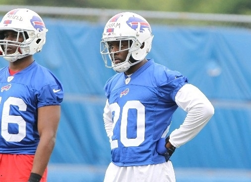 Buffalo native Corey Graham, shown during minicamp in June, is one of the new faces on the Bills roster for next week's training camp. (Mark Mulville/Buffalo News)
