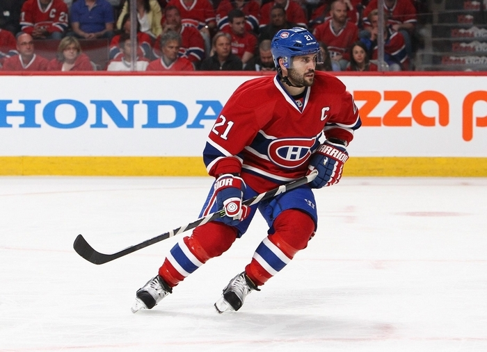 The Buffalo Sabres hope former Montreal captain Brian Gionta will provide some leadership as they rebuild their roster. (Getty Images)
