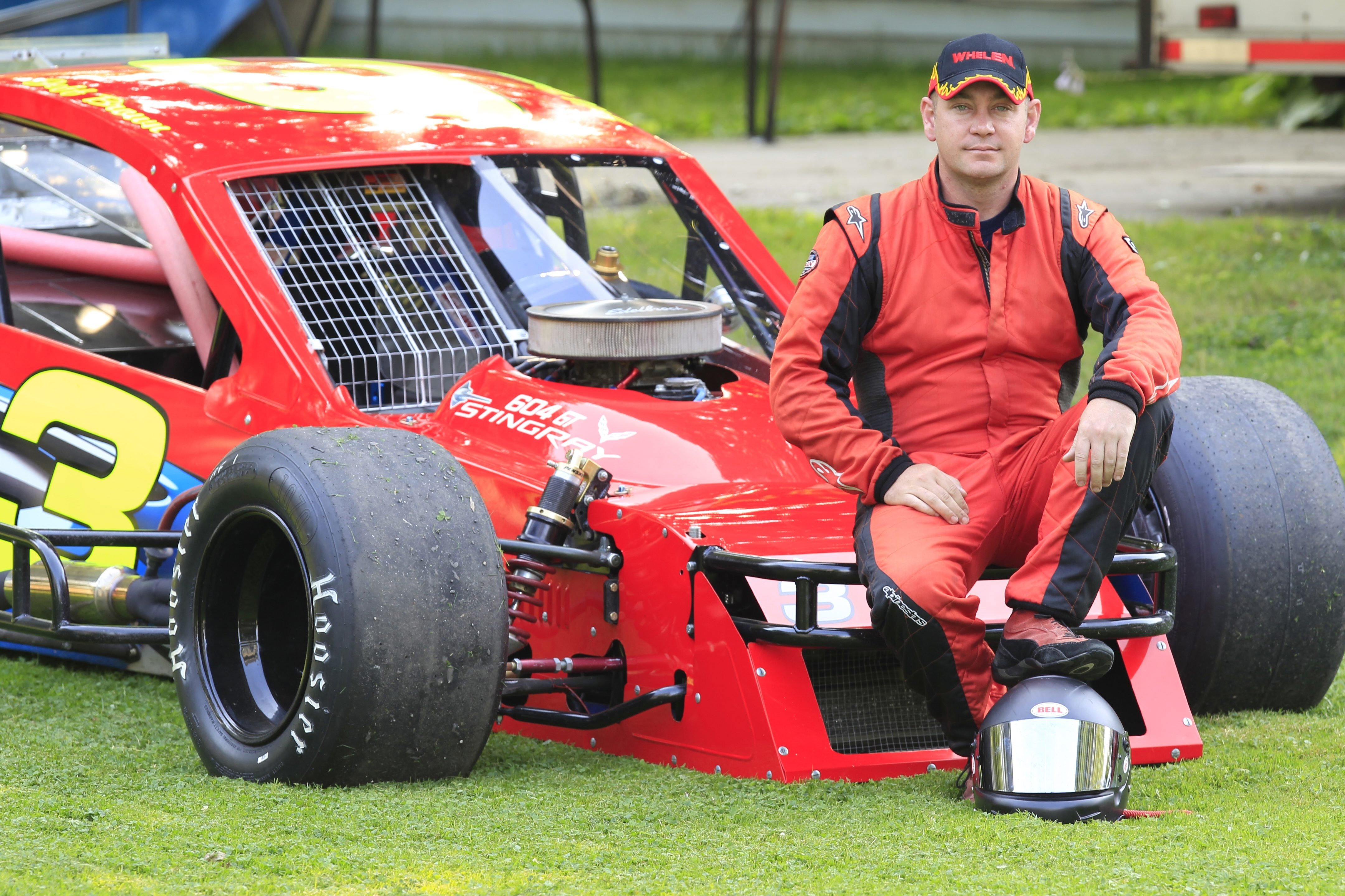 Jeff Brown  overcame an accident to win July 5 at Holland and then won again the following week.