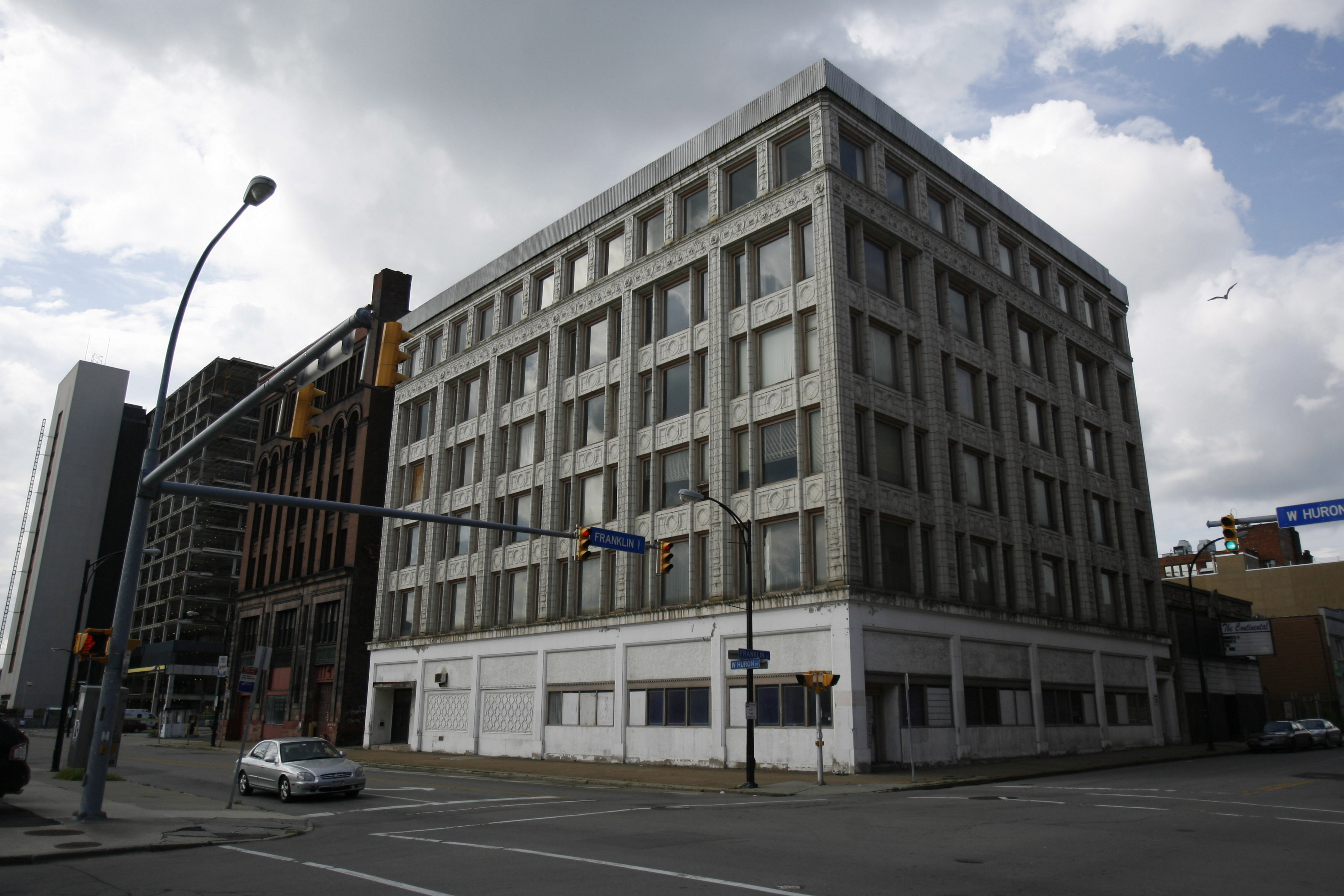 The Curtiss Building at the corner of Franklin and West Huron will become a boutique hotel.