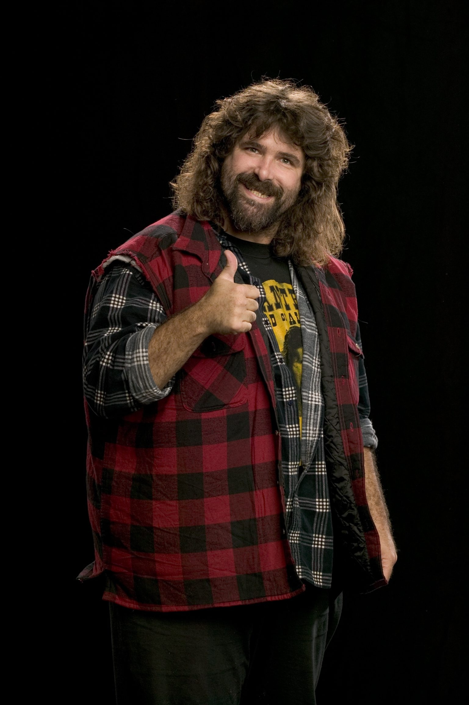 "Mick Foley performs his one-man ""Hardcore Legend"" show Sunday in Helium Comedy Club."