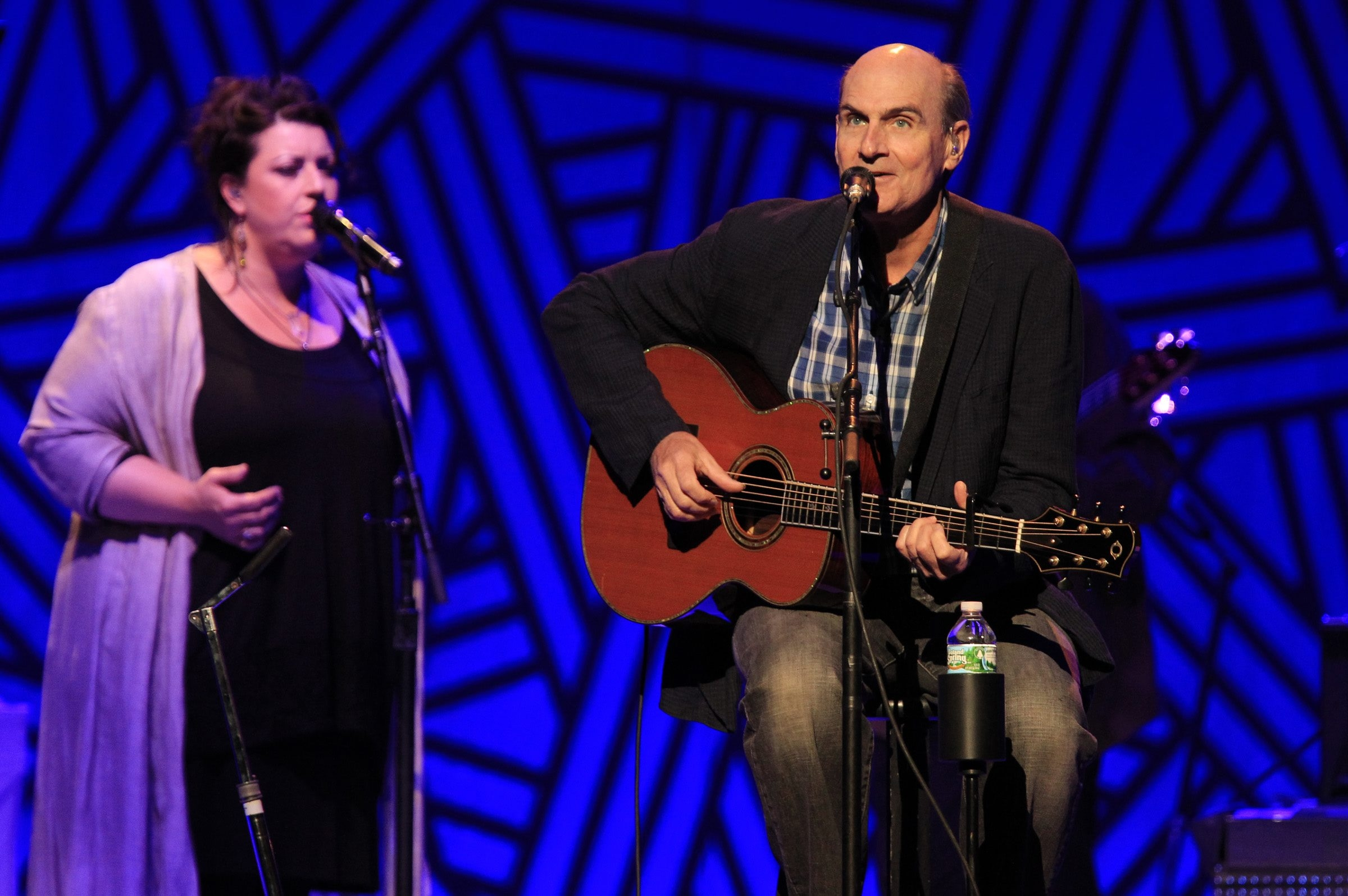James Taylor performs at the First Niagara Center on Tuesday, July 29, 2014. (Harry Scull Jr./Buffalo News)