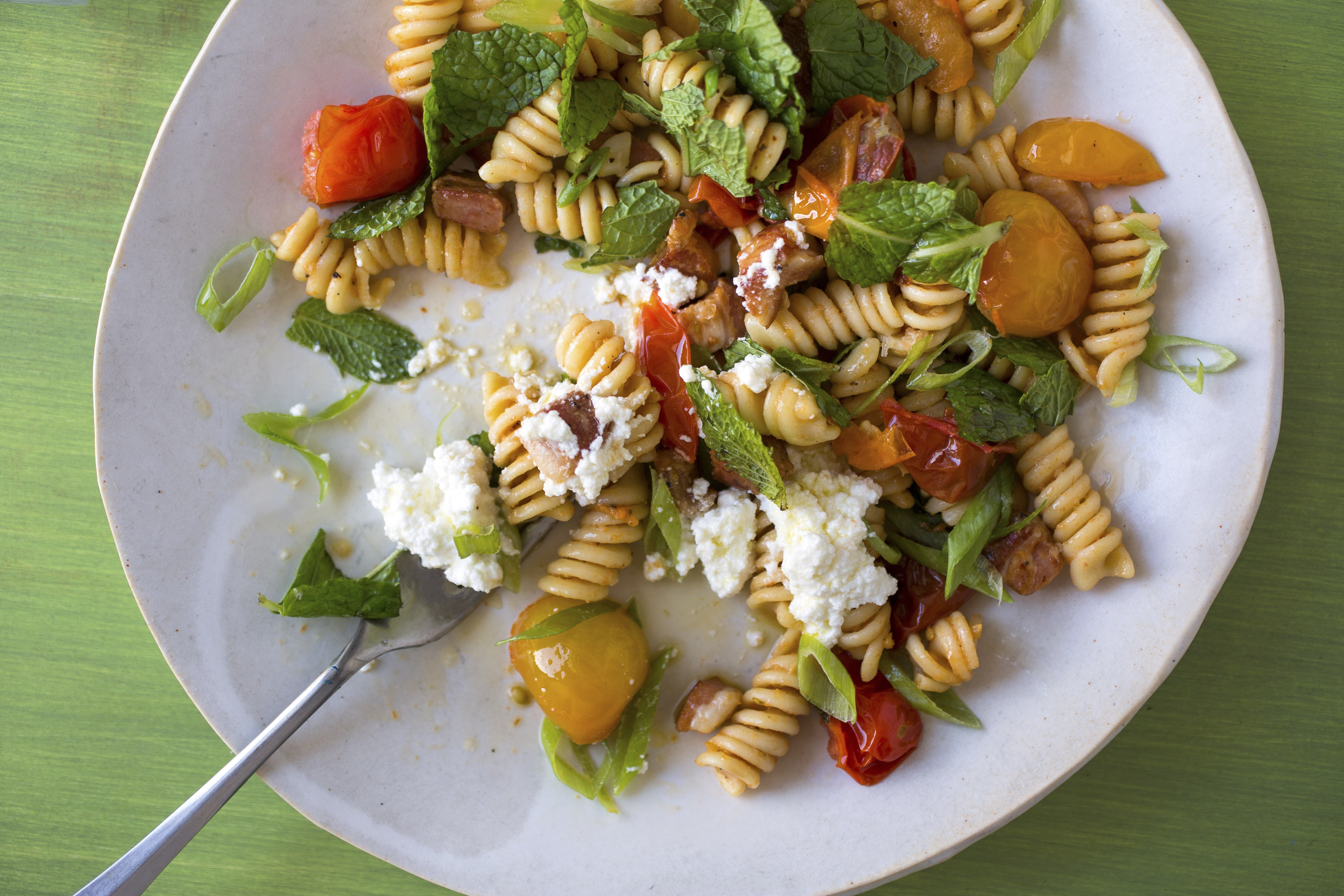 Summer is the ideal time to cook simple, quick-to-prepare fresh tomato pasta dishes in lieu of long-simmered sauces.