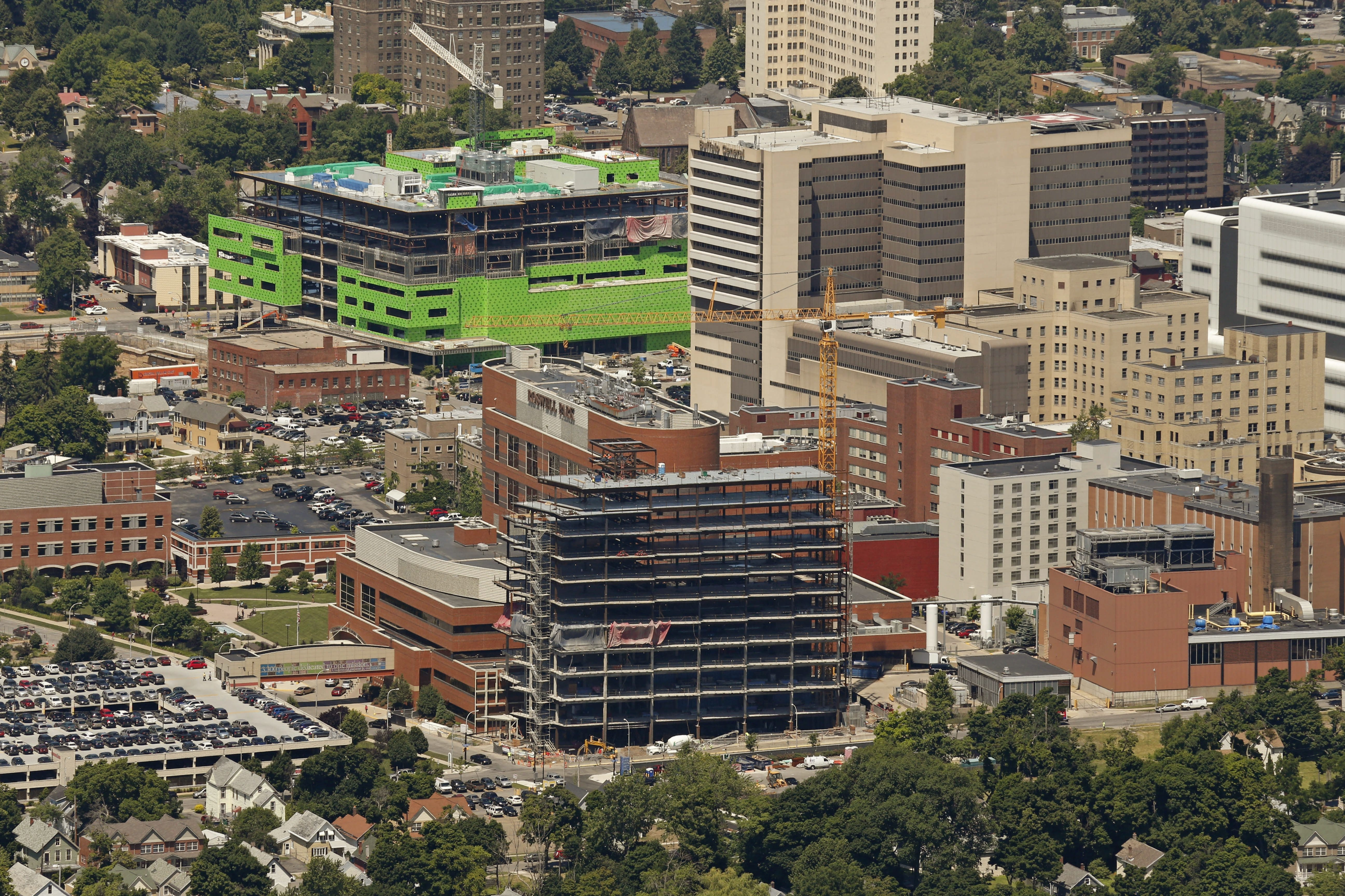 Growth of the Buffalo Niagara Medical Campus is spurring development around the 30-square-block area, just as it was predicted to do.