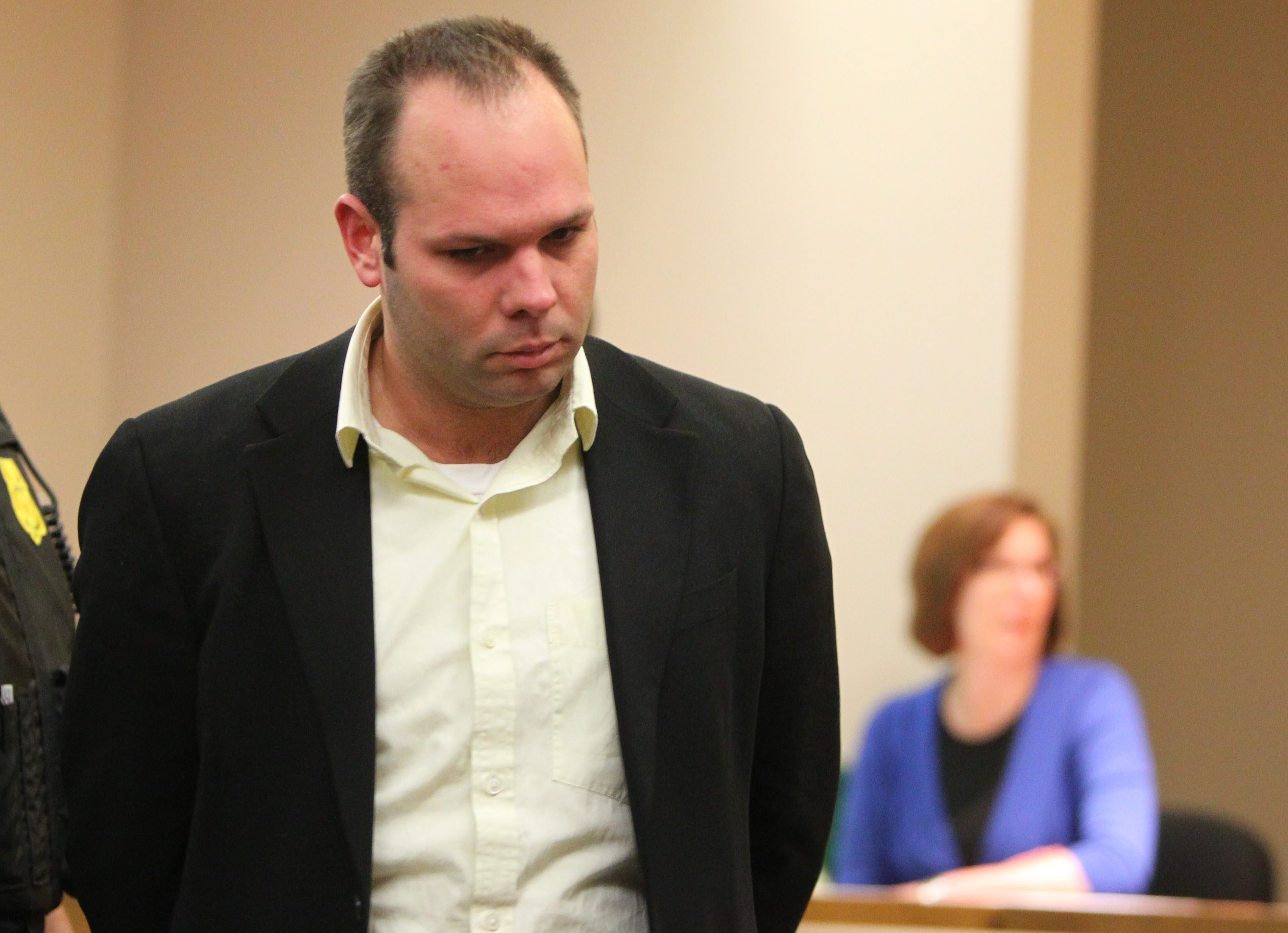 Jeffrey Basil, Mollys Pub manager, was arraigned Friday in State Supreme Court.