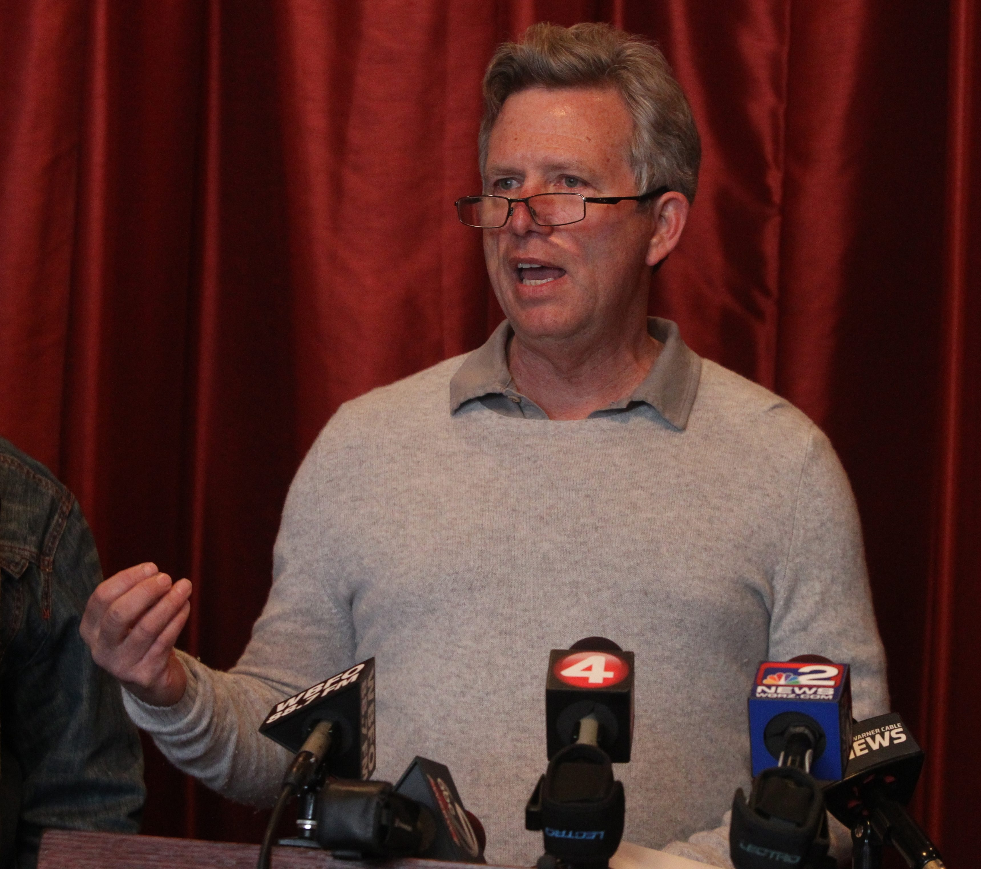 New School Board member Larry Quinn immediately reached out to district parents. (Buffalo News file photo)