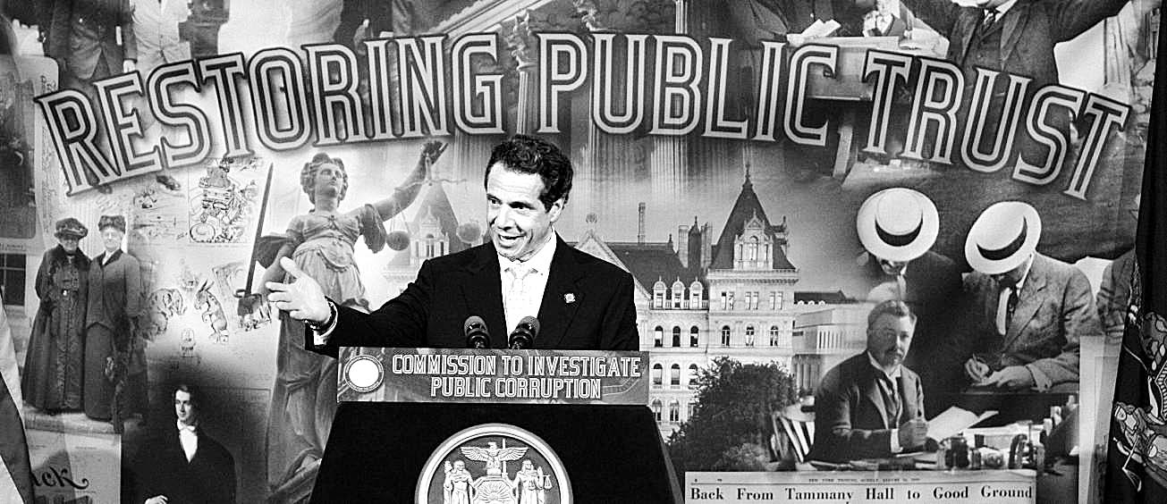 Gov. Andrew Cuomo announced his anti-corruption panel with much fanfare a year ago at the University at Buffalo Law School, promising a sweeping investigation of New York's sordid politics.