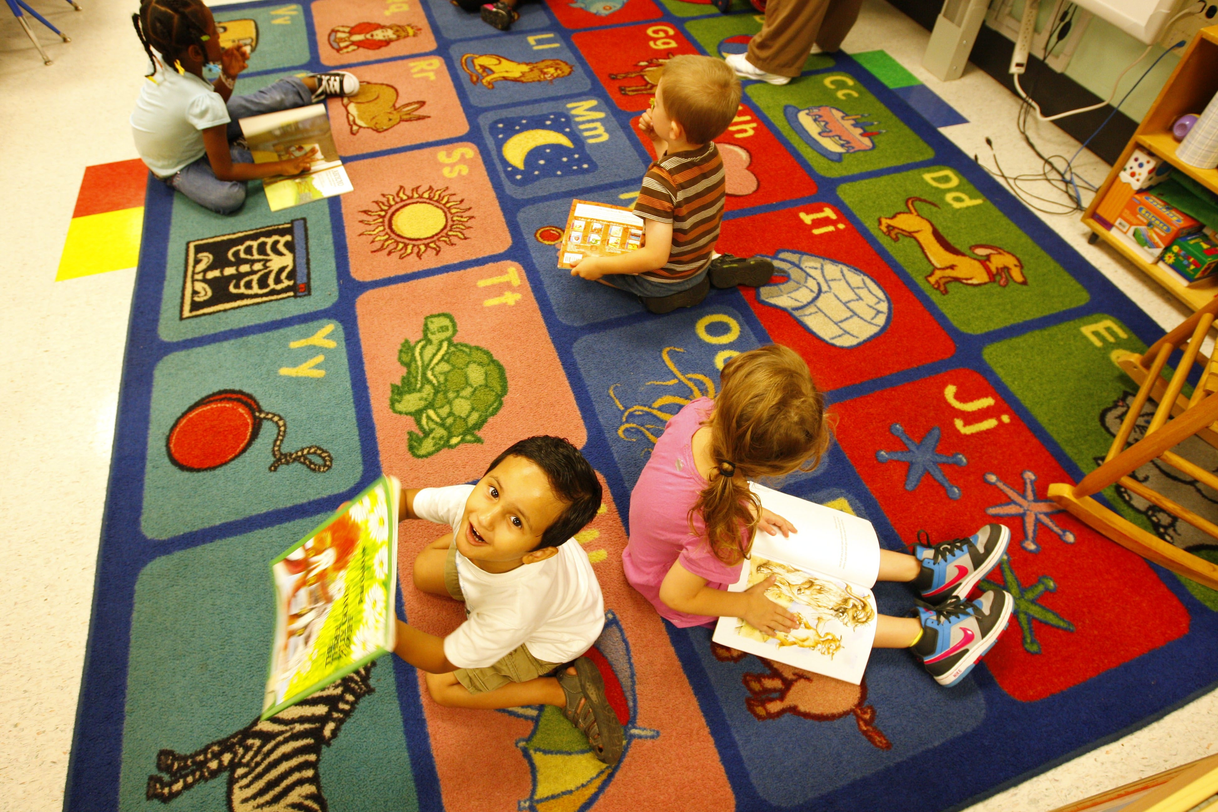 Prekindergarten students at Dr. George E. Blackman Early Childhood Center on Buffalo's East Side get an energetic start in literacy in a summer school program that's run in conjunction with Say Yes Buffalo.