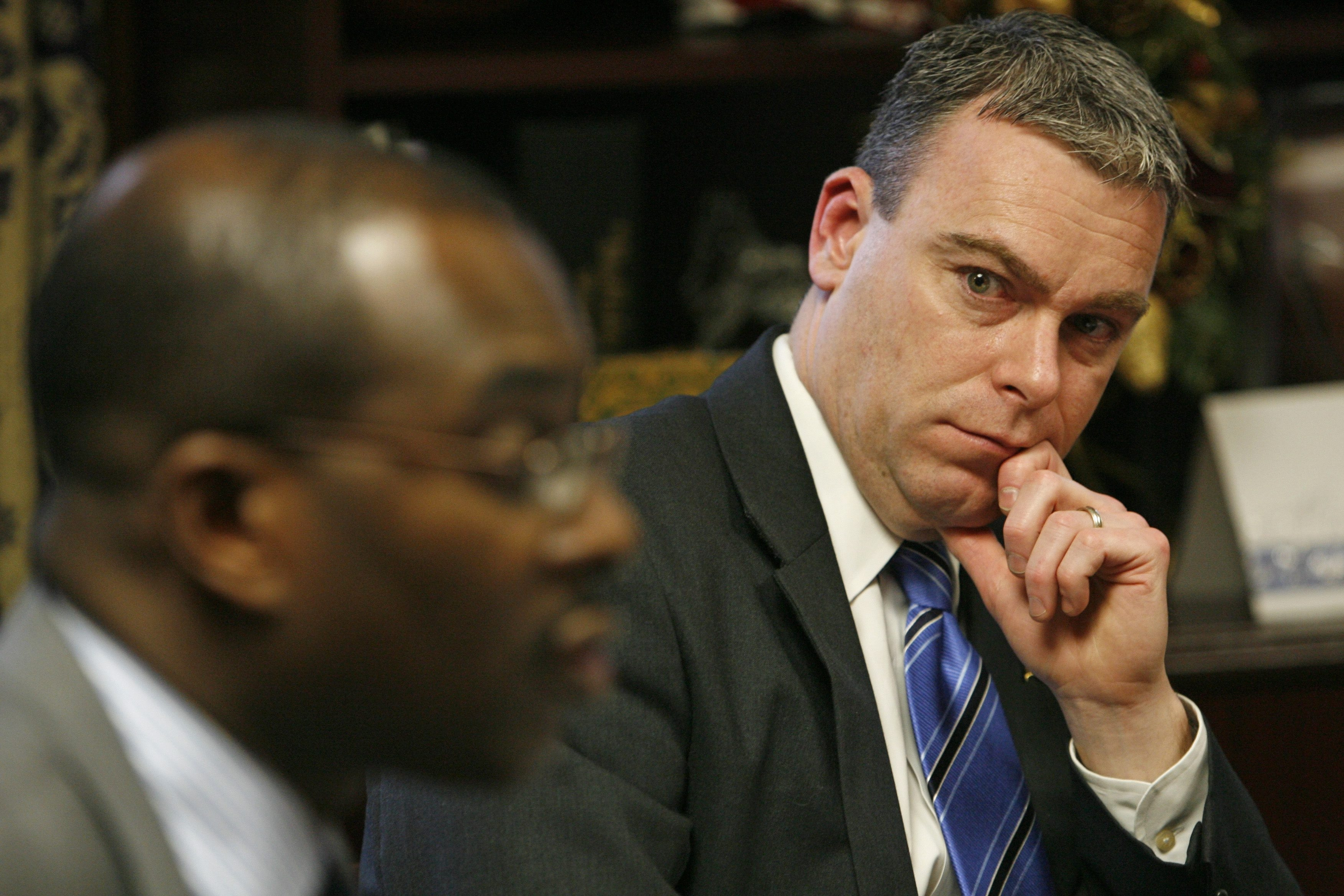 Steven Casey was at Byron Brown's side long before he was first elected mayor in 2006. (Buffalo News file photo)