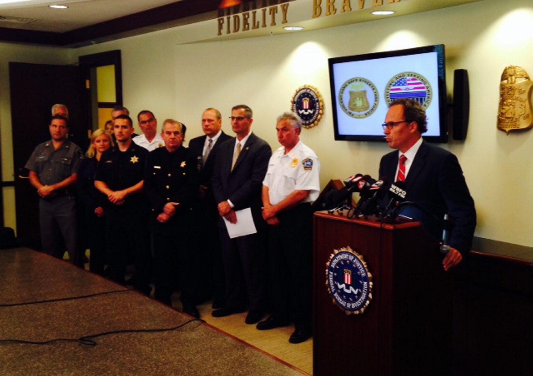 U.S. Attorney William Hochul discusses the drug bust.