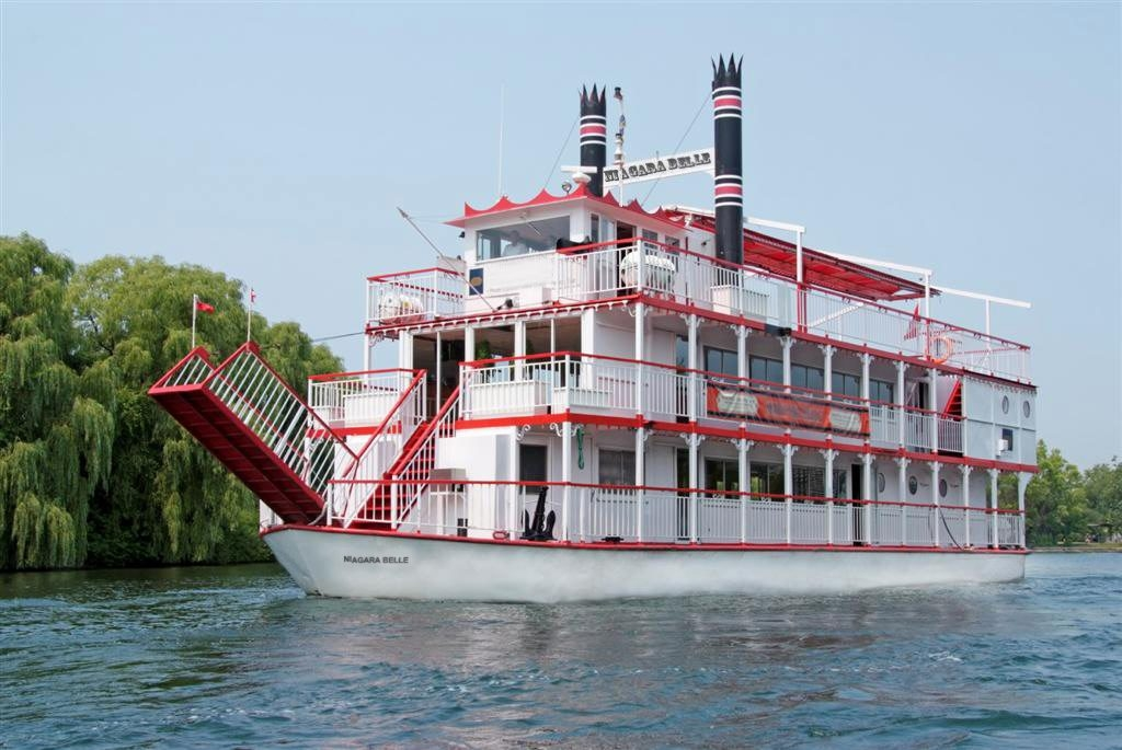The Niagara Belle is a three-deck paddle wheel boat that will be used for cruises on Lake Ontario and the Lower Niagara River beginning Aug. 3.