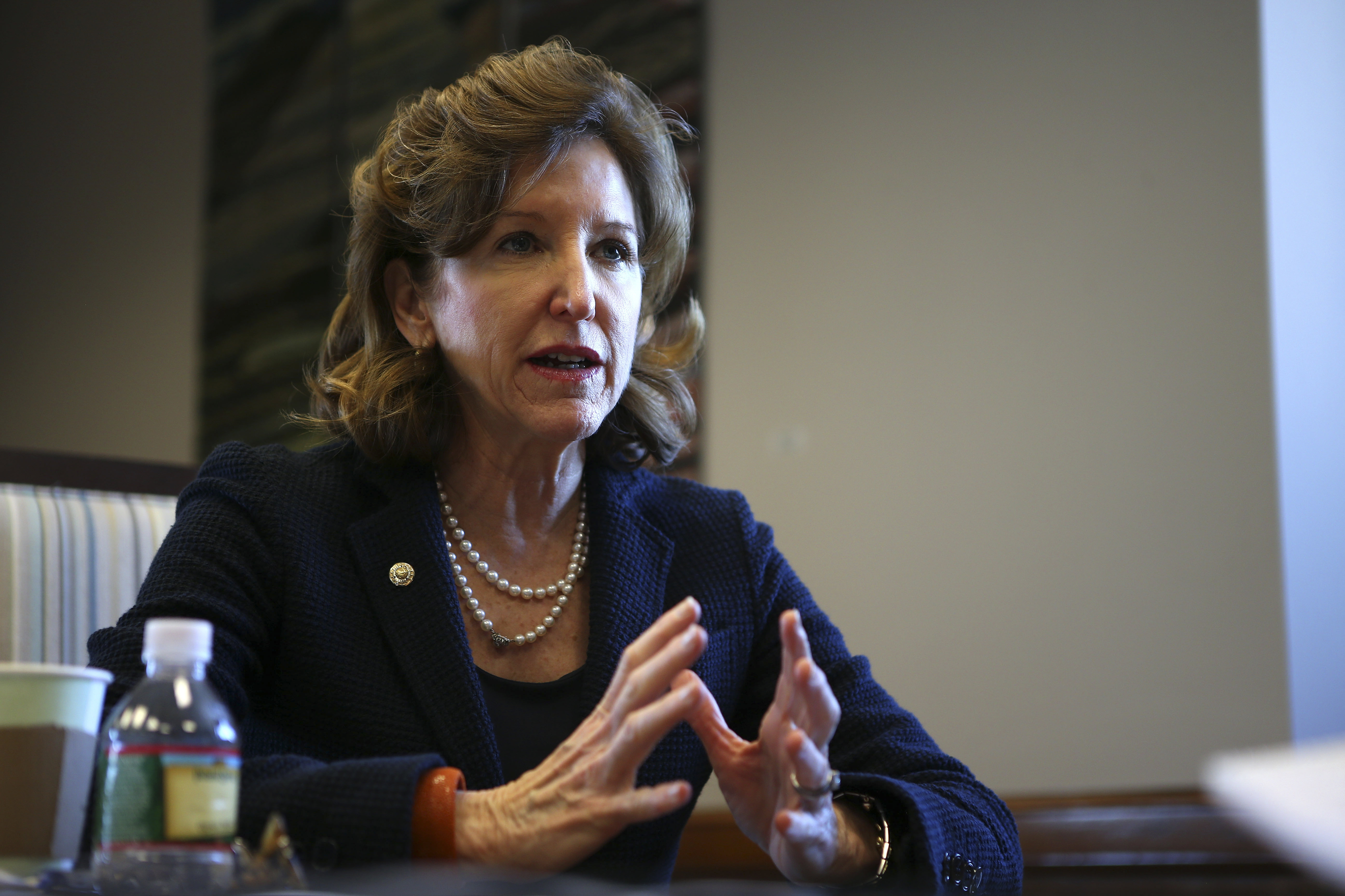 Sen. Kay Hagan (D-N.C.), above, and Sen. Mary Landrieu (D-La.) are up for re-election next year, and the outcome of their races could determine whether the Southern Democrat is headed for extinction.