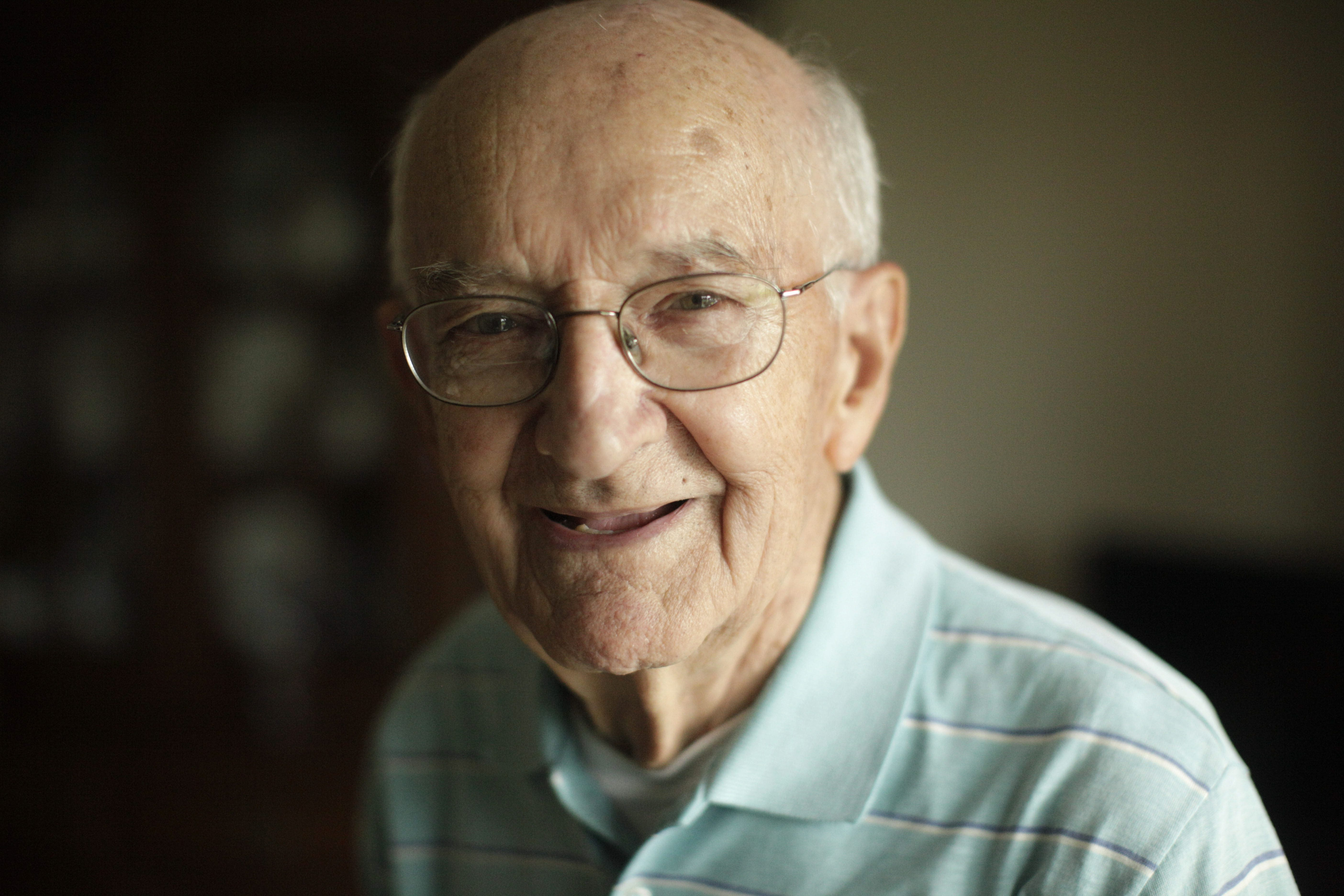 Arthur Daigler landed at Normandy on June 7 and later almost got hit in the head by shrapnel.