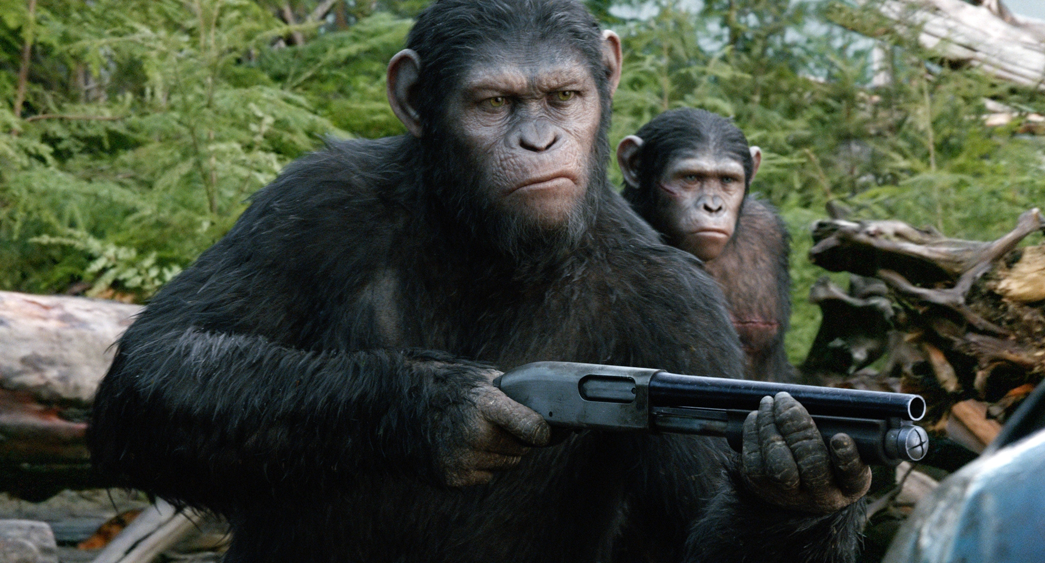 "Twentieth Century Fox Film Corporation's ""Dawn of the Planet of the Apes,"" starring Andy Serkis as Caesar, was No. 1 at the box office this week."