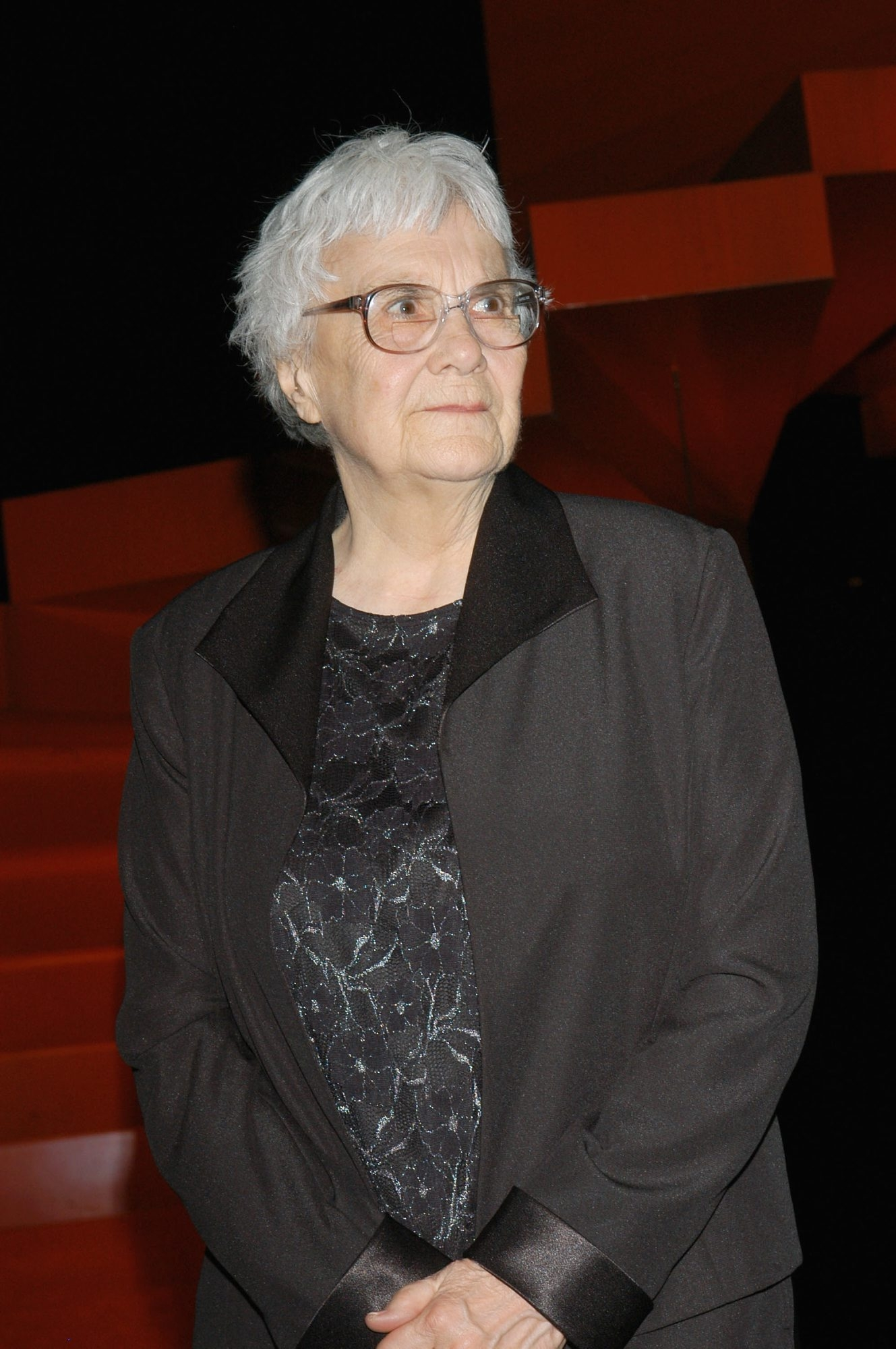 Harper Lee attends the Library Foundation of Los Angeles 2005 Awards Dinner honoring her.
