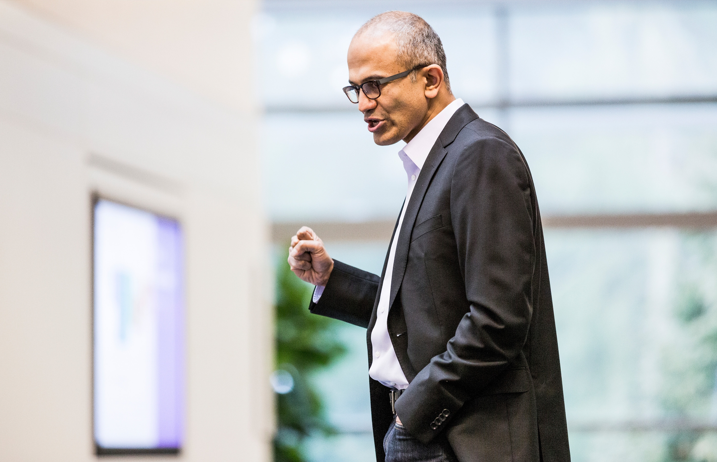 Today's announcement is the boldest move by CEO Satya Nadella since he took the reins from Steve Ballmer in February.
