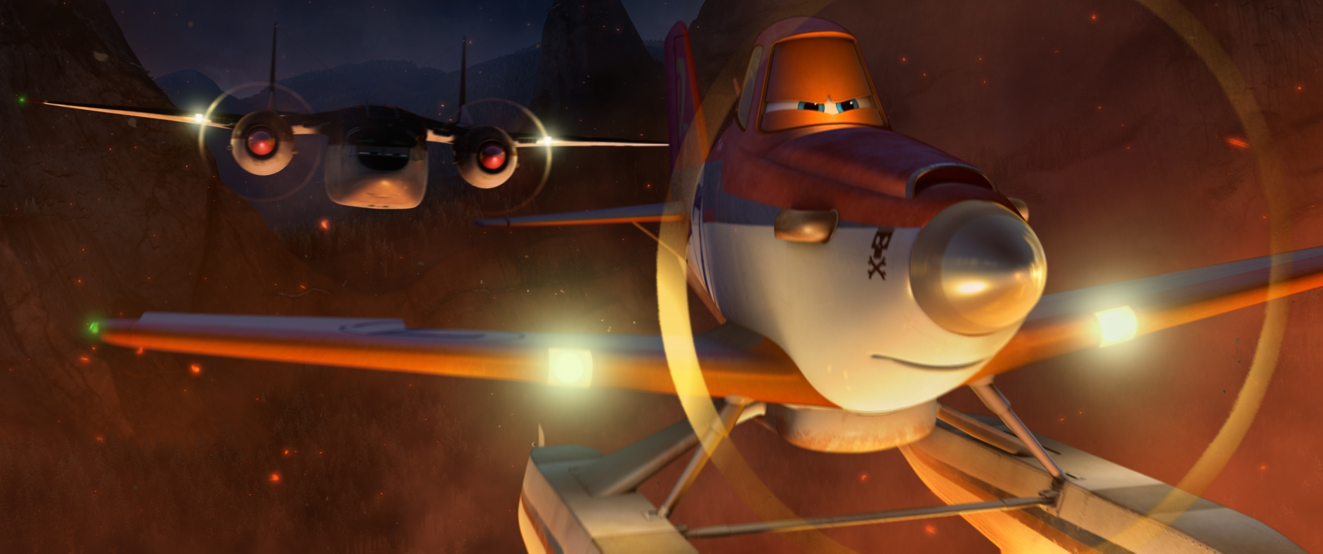 """Dusty volunteers to help fight forest fires in """"Planes: Fire & Rescue."""""""