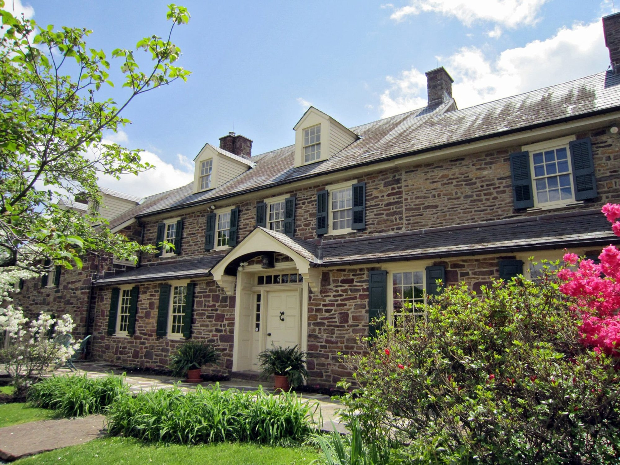 The home of author Pearl Buck in Perkasie, Penn., remains largely the same as when she lived there. (Diane Stoneback/Allentown Morning Call/MCT)