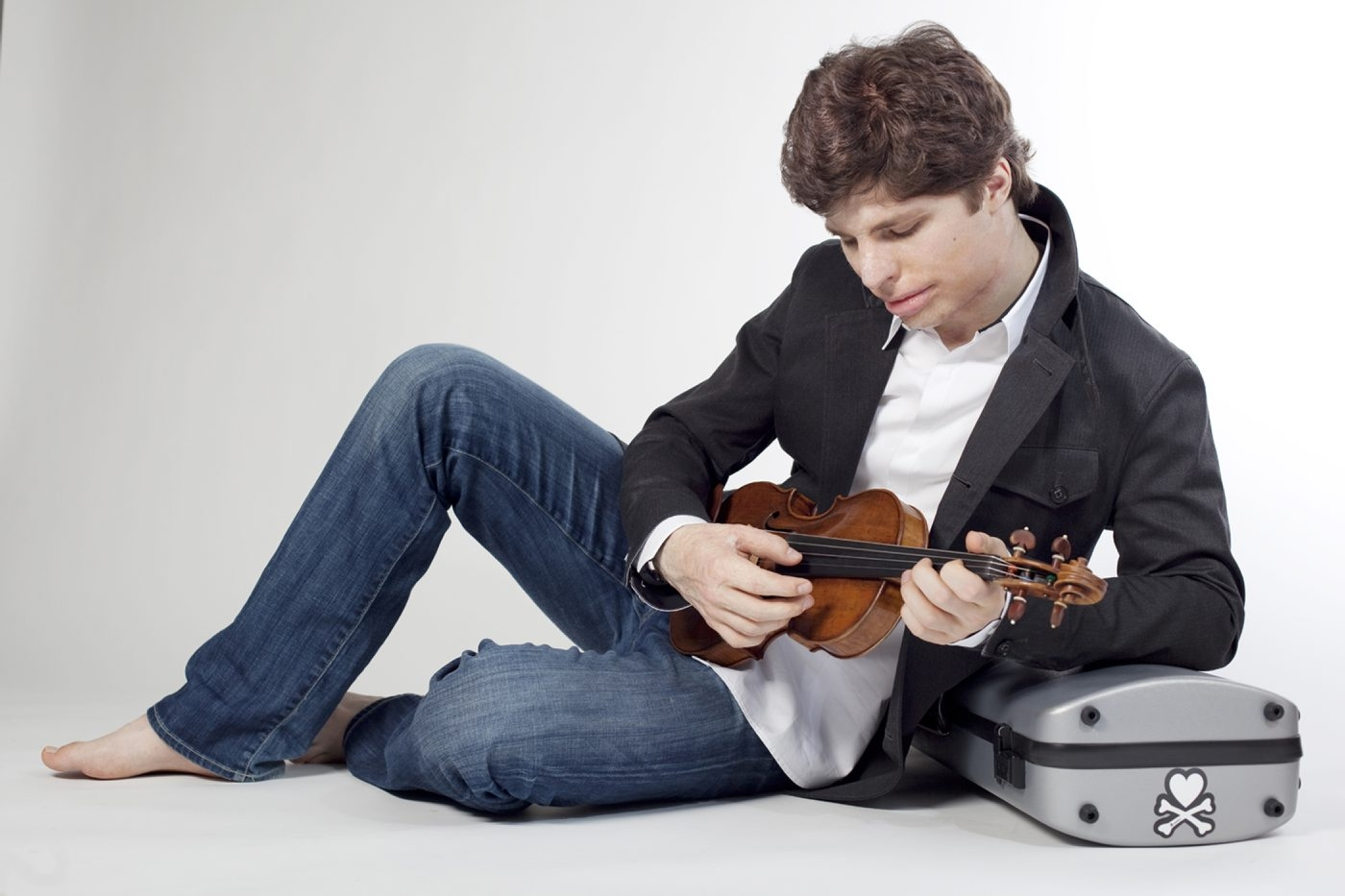 Augustin Hadelich is playing a Stradivarius with the BPO on Friday.