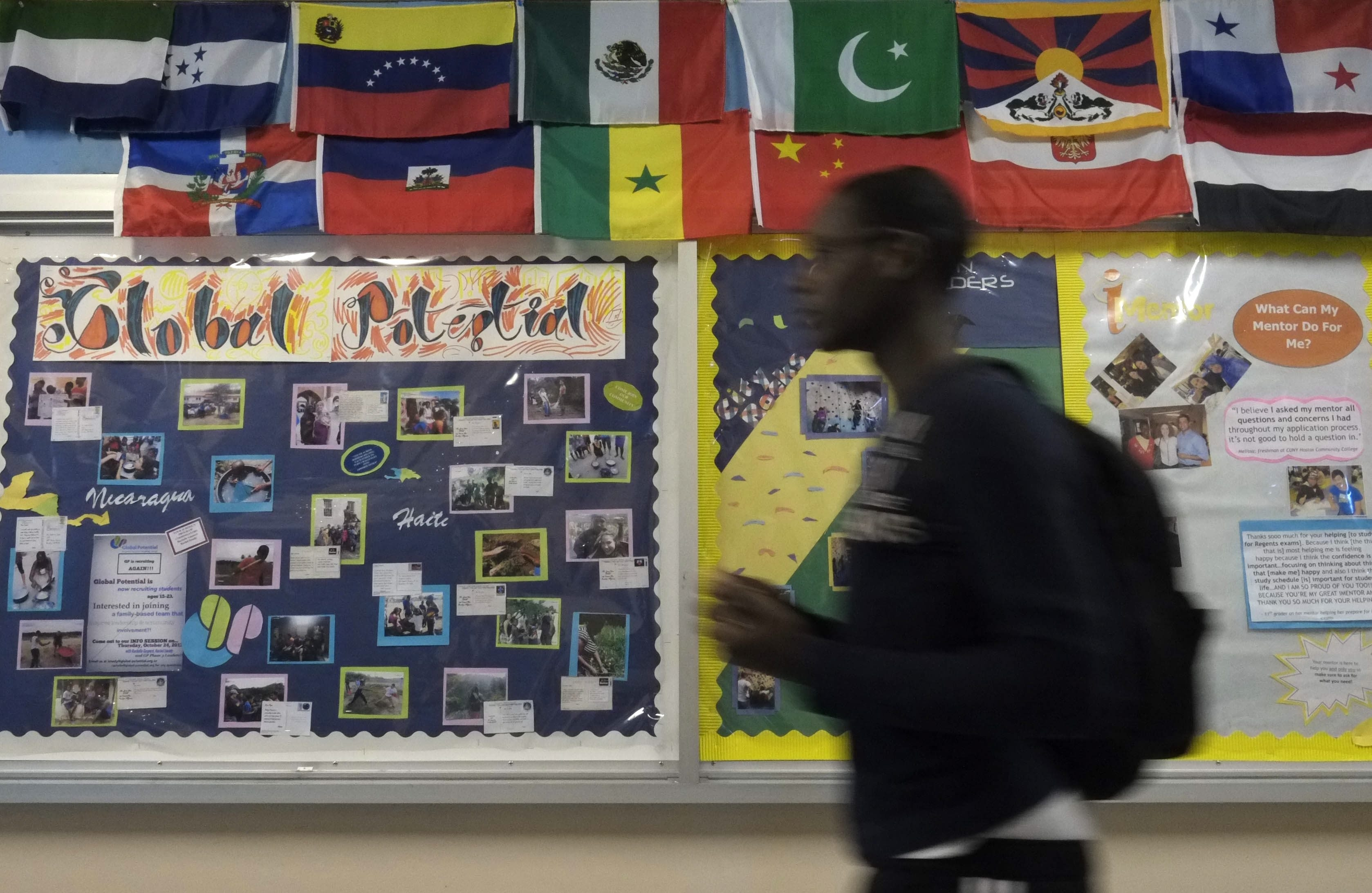The International School at Prospect Heights, which has a 66 percent four-year graduation rate, could be a road map for Buffalo's Lafayette High School, where only 26 percent of the students graduate on time.