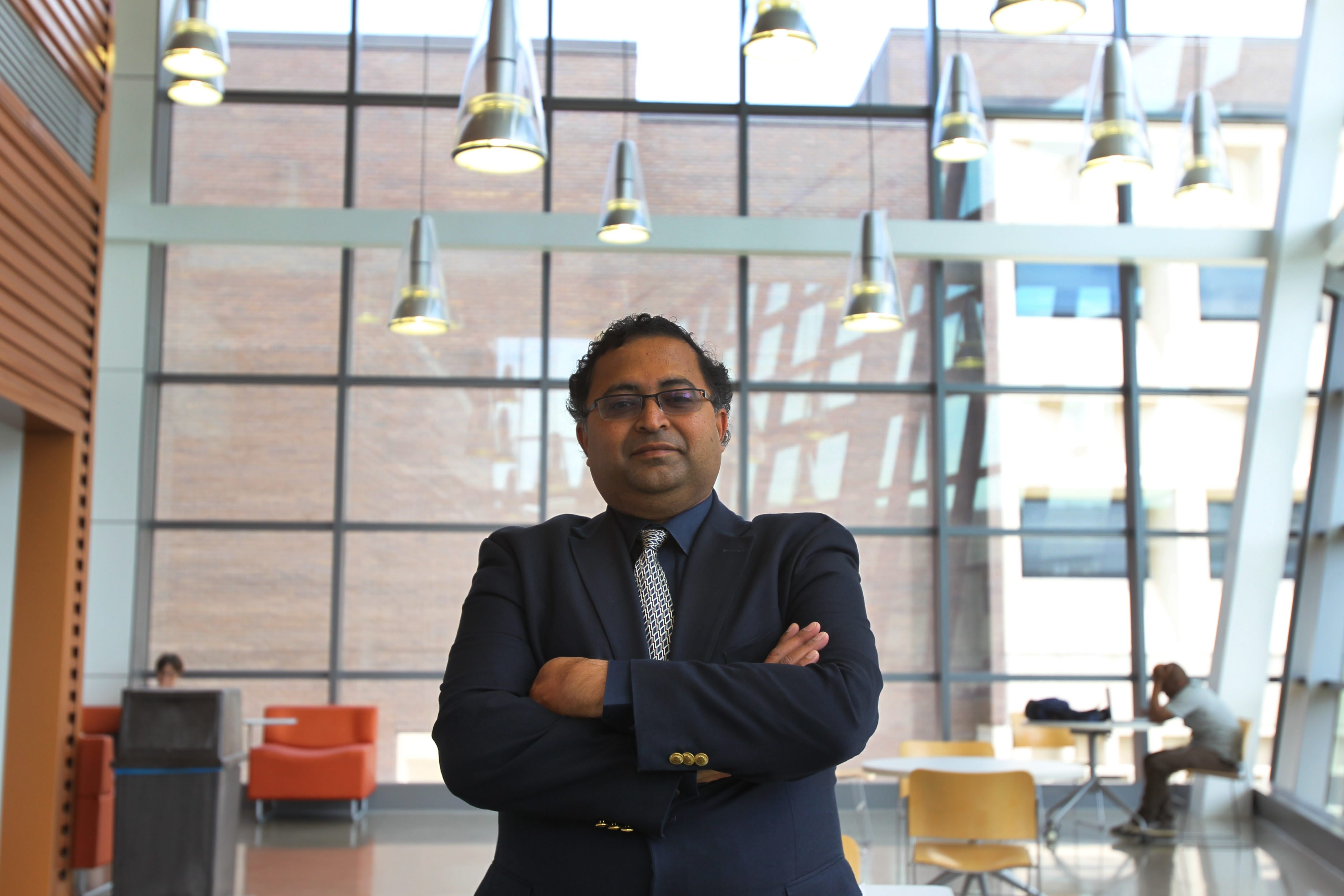 UB engineering professor Venkat Krovi, who helped attract the convention, hopes some engineers stay.