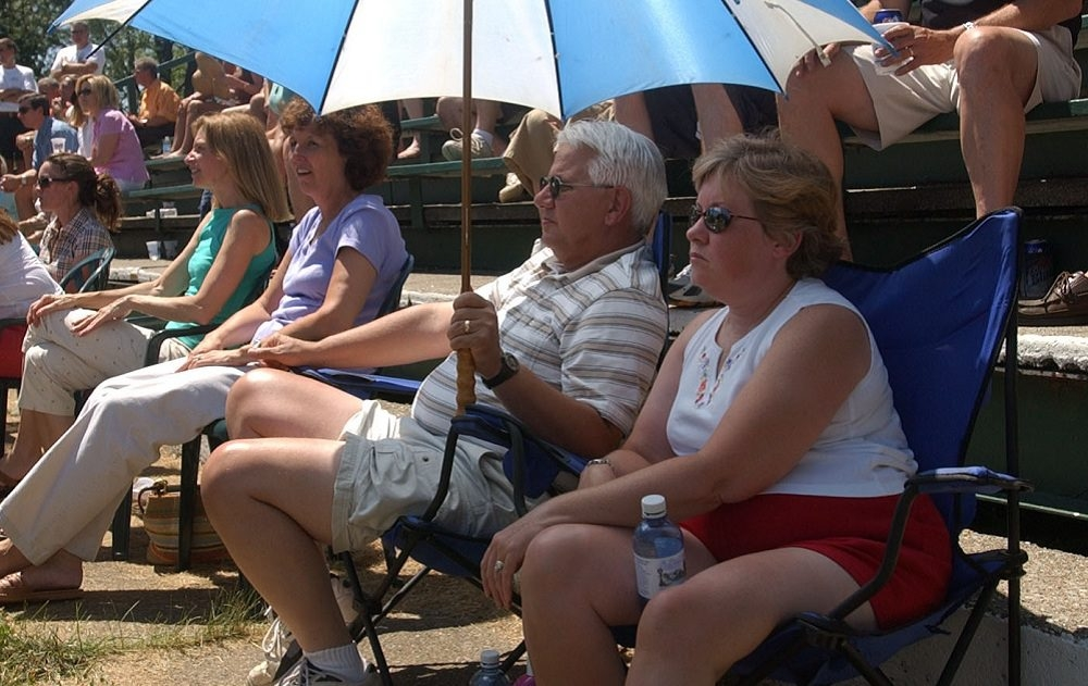 Spectators enjoy the inaugural Summer of '69 music fest in Lewiston back in 2005. This year marks the 10th anniversary. (Derek Gee/Buffalo News file photo)