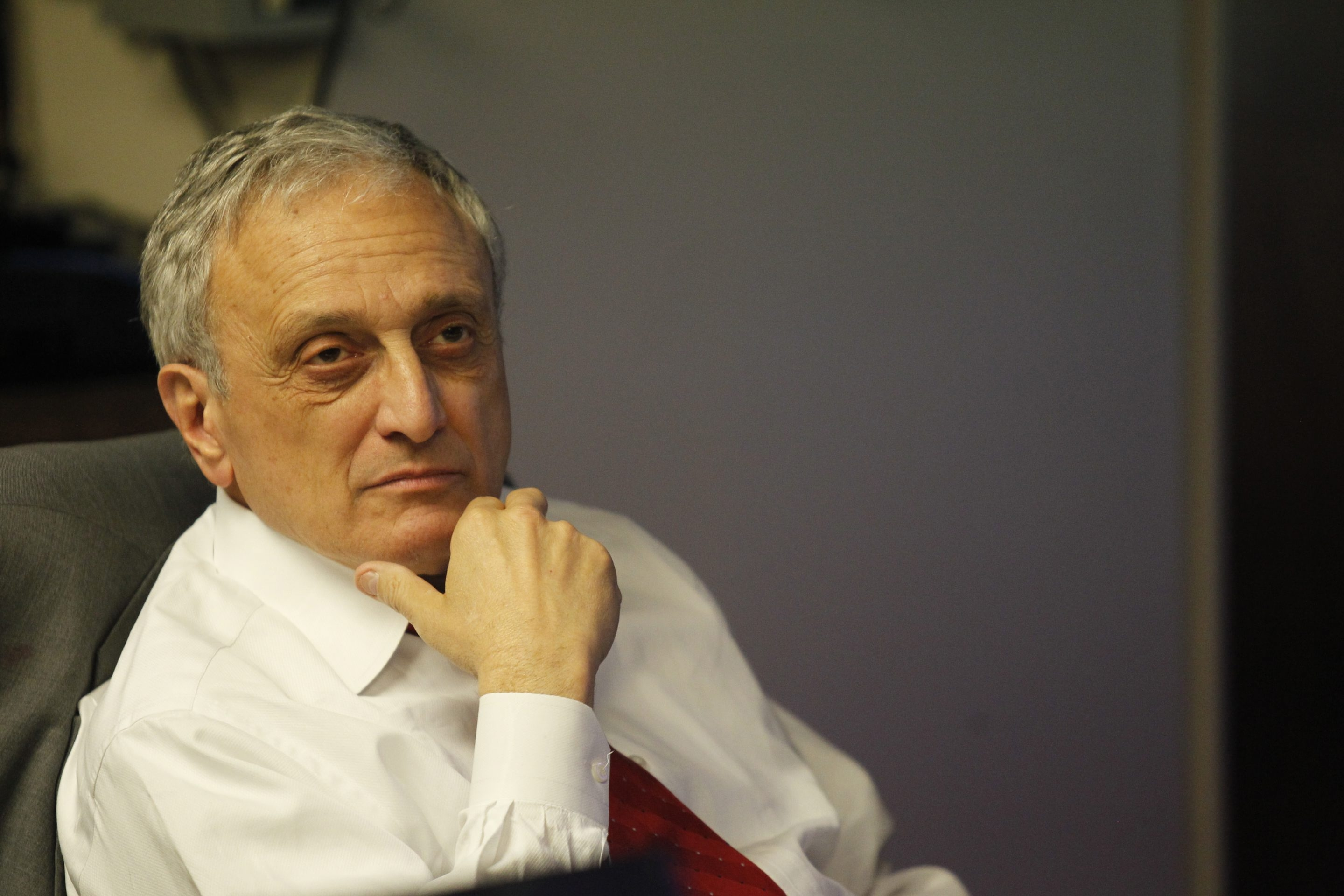 In his year on the Buffalo Board of Education, Carl P. Paladino has played an unquestionable role drawing attention to the problems of the beleaguered school system. (Harry Scull Jr./Buffalo News)