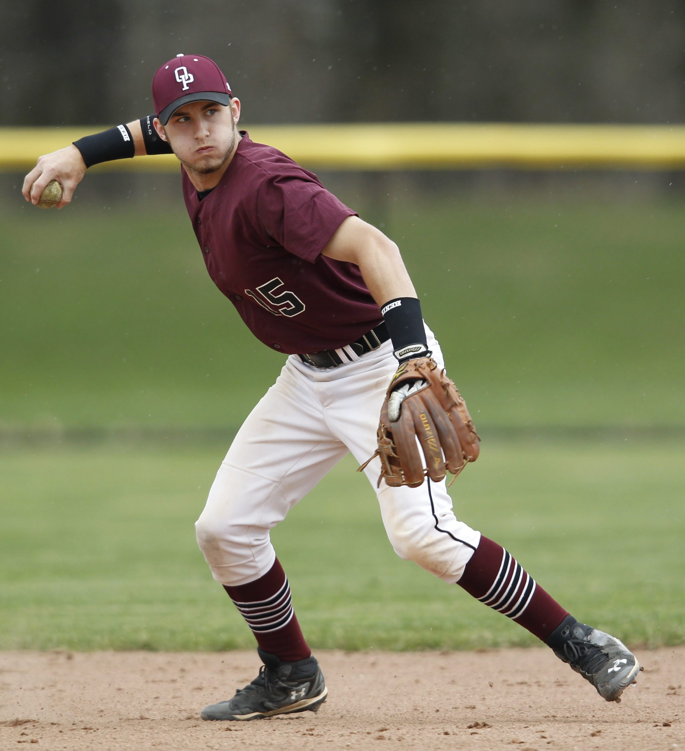 Orchard Park shortstop Dave Hollins follows in his dad's footsteps as the top baseball player in WNY.
