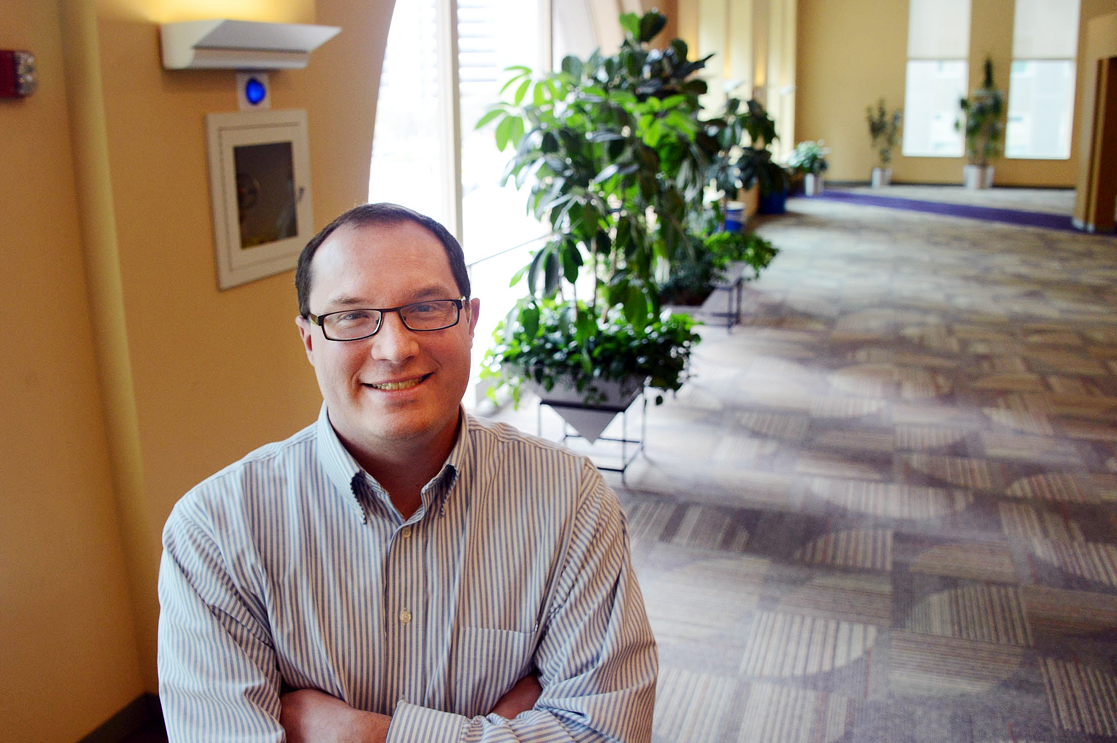 Aaron Bosley, who is deaf, works for Highmark, which employs more than 100 disabled people.